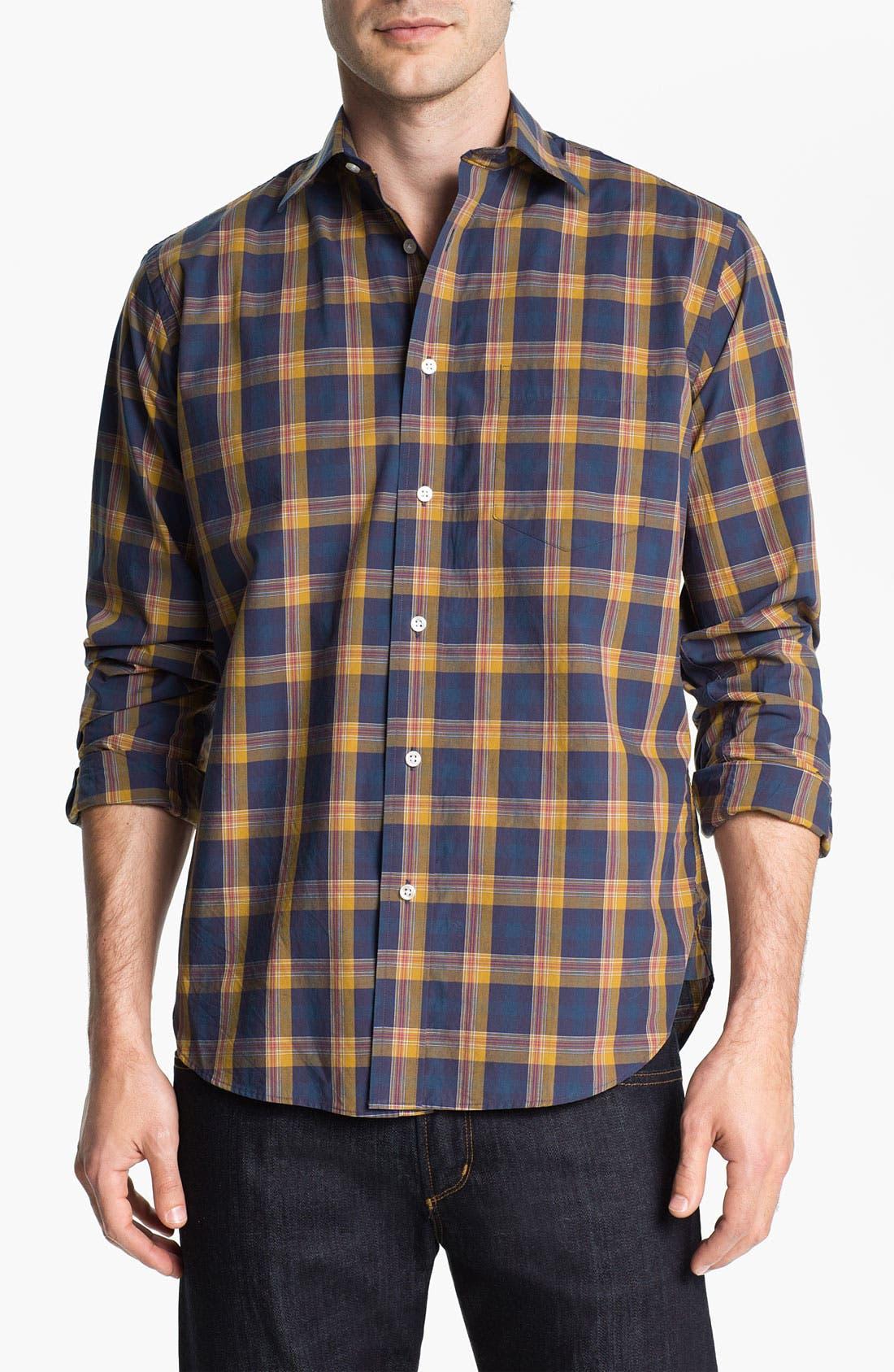 Alternate Image 1 Selected - Khaki Surplus Trim Fit Sport Shirt