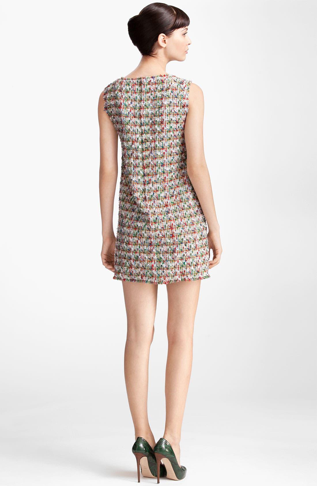 Alternate Image 2  - Dolce&Gabbana Sleeveless Tweed Dress