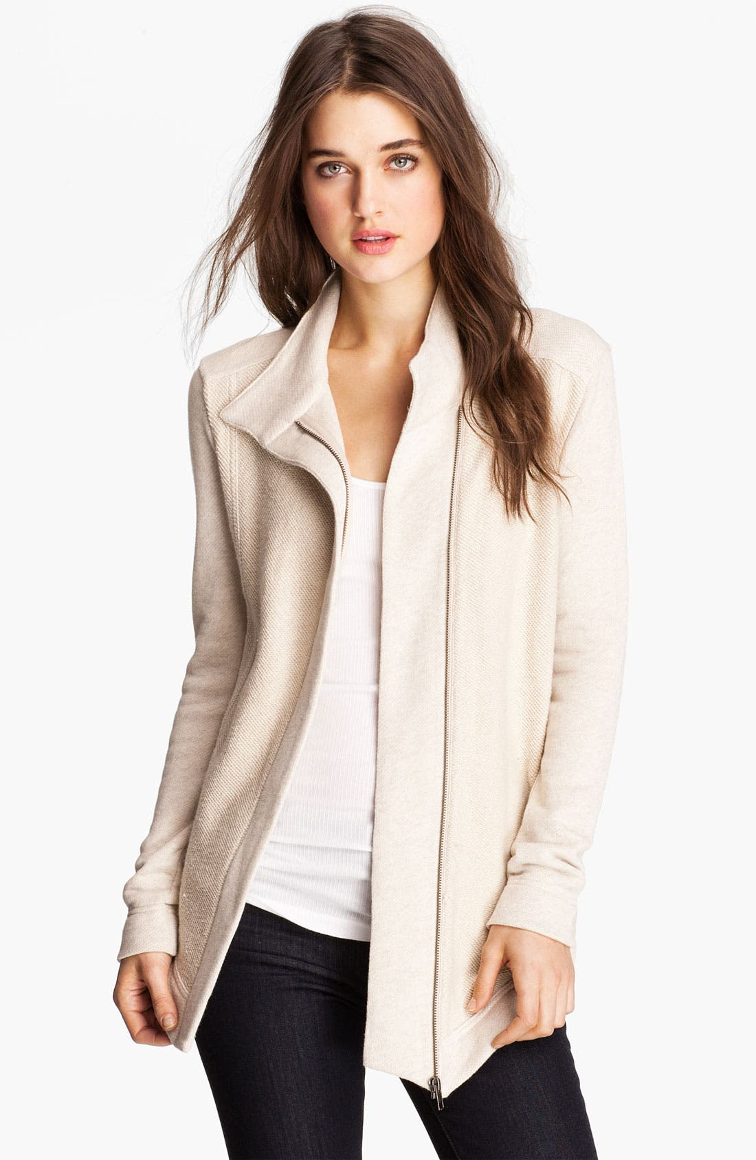 Alternate Image 1 Selected - Stem Asymmetrical Zip Jacket