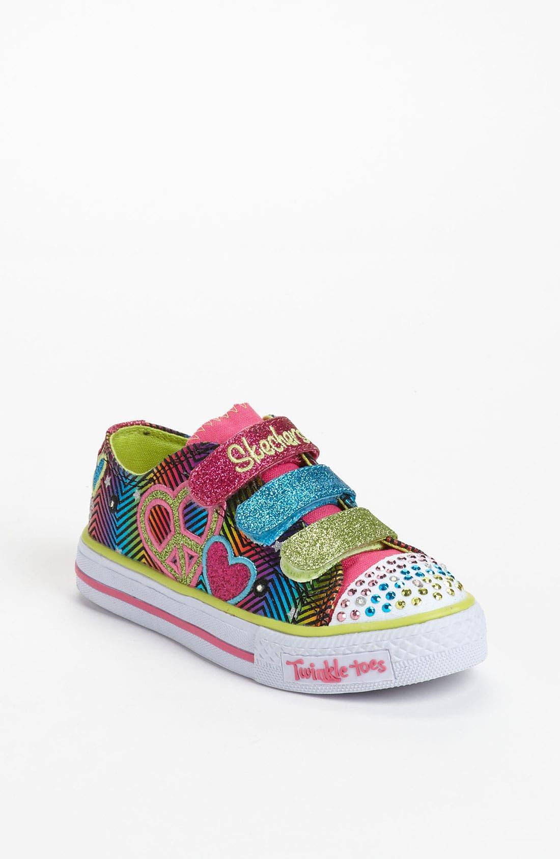 Alternate Image 1 Selected - SKECHERS 'Shuffles - Baby Luv' Sneaker (Toddler & Little Kid)