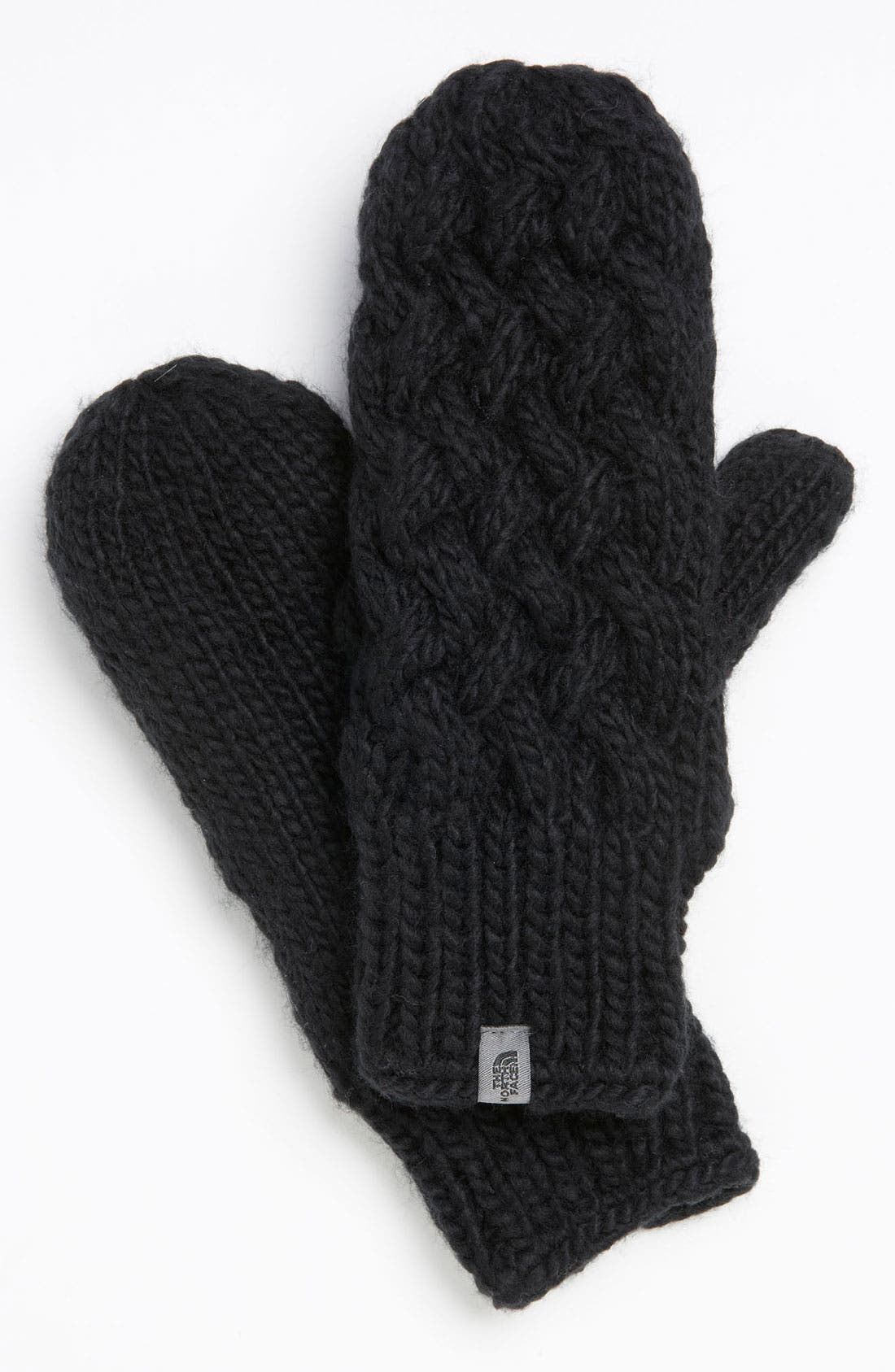 Alternate Image 1 Selected - The North Face Cable Knit Mittens