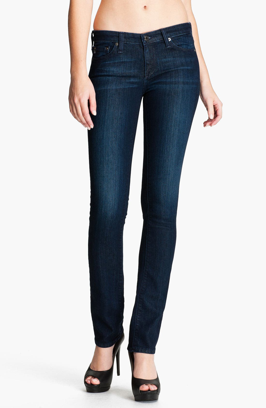 Main Image - AG Jeans 'Ballad' Slim Bootcut Stretch Jeans (Viy Vision)