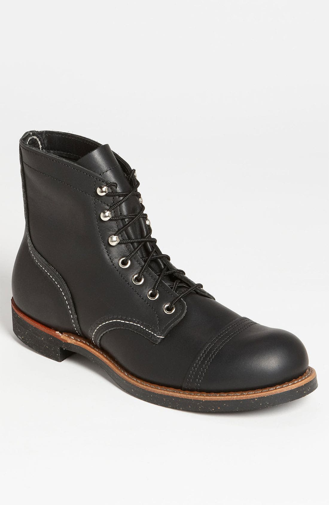 Red Wing 'Iron Ranger' 6 Inch Cap Toe Boot (Online Only)