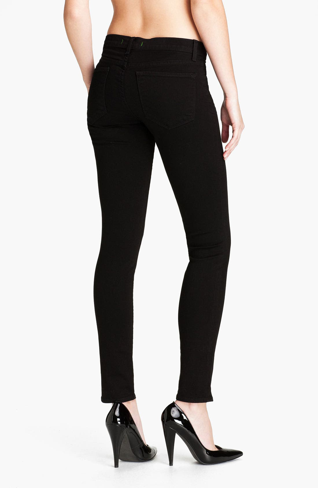 Alternate Image 2  - J Brand Skinny Denim Leggings (Shadow)