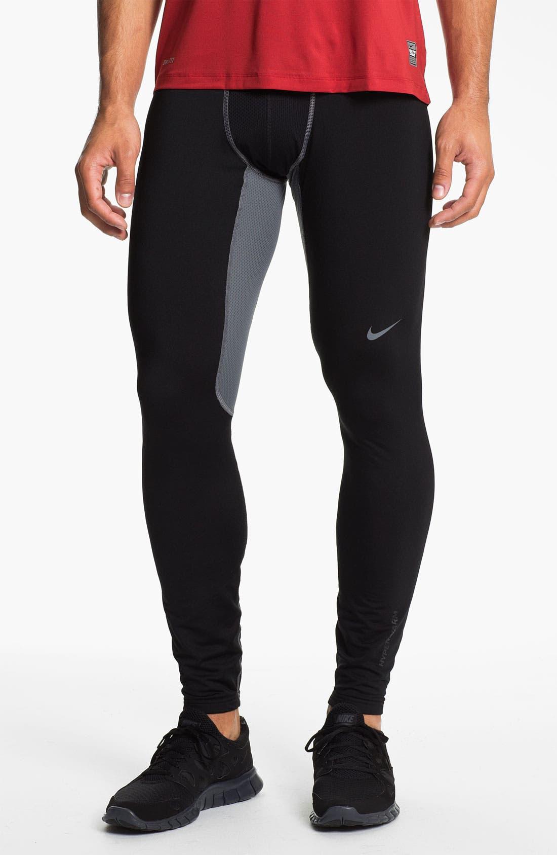 Alternate Image 1 Selected - Nike 'Hyperwarm' Dri-FIT Running Leggings (Online Exclusive)