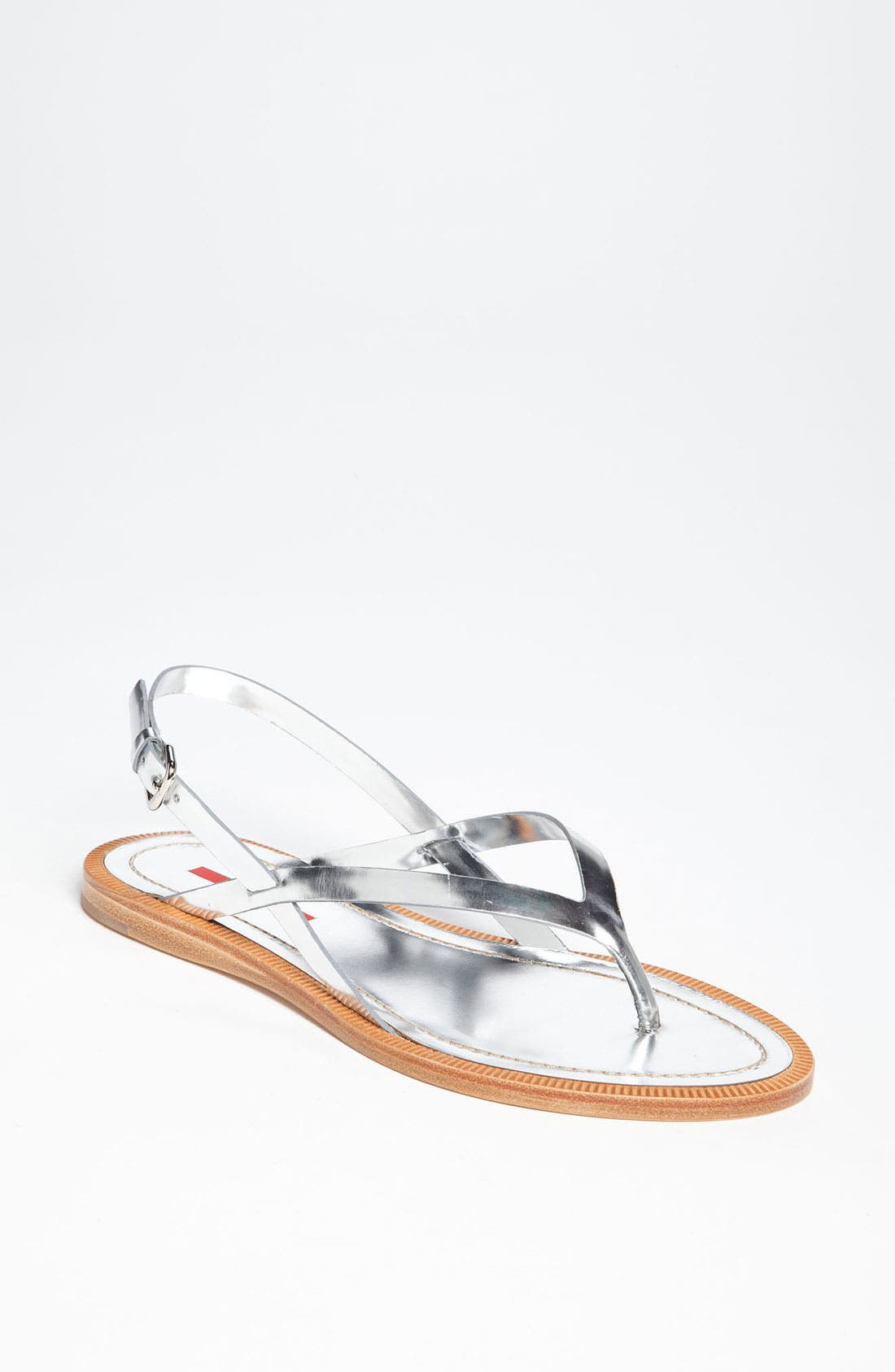 Alternate Image 1 Selected - Prada Flat Sandal