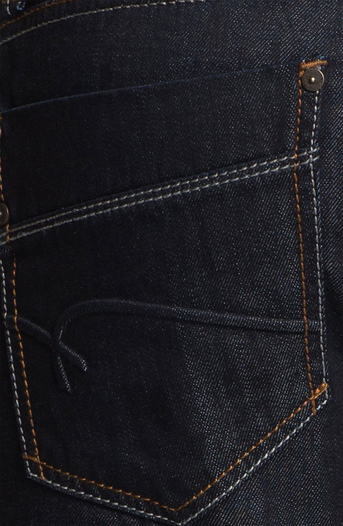 Alternate Image 4  - Mavi Jeans 'Zach' Straight Leg Jeans (Rinse Jameson)