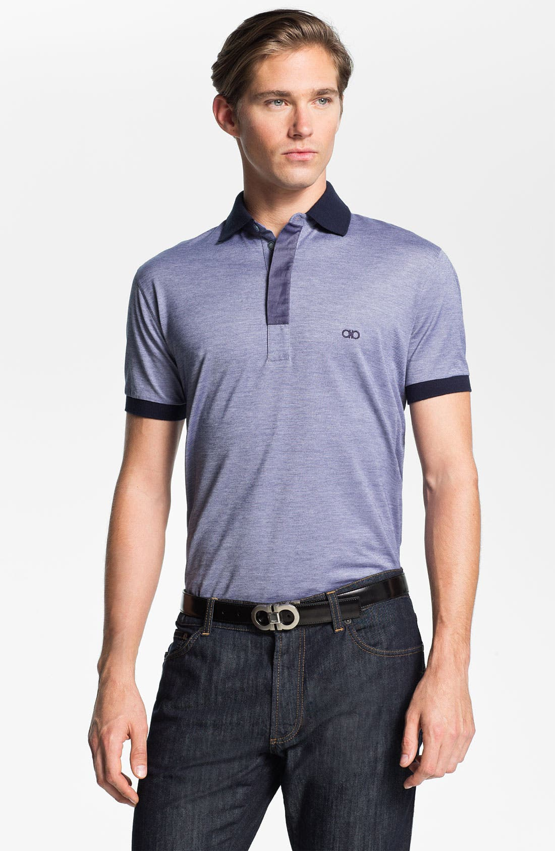Main Image - Salvatore Ferragamo Polo