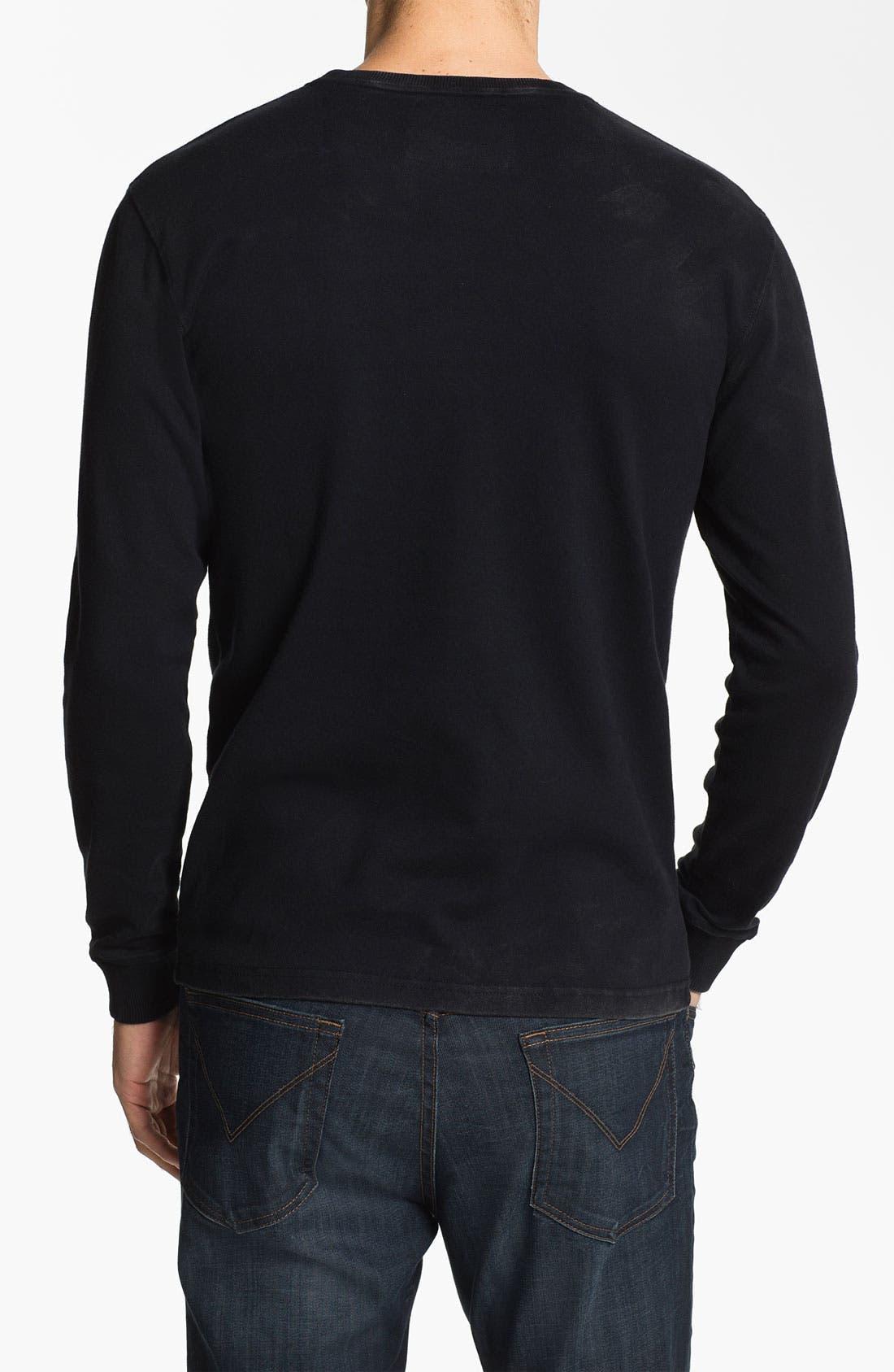 Alternate Image 2  - Red Jacket 'Bruins  - Team City' Long Sleeve T-Shirt