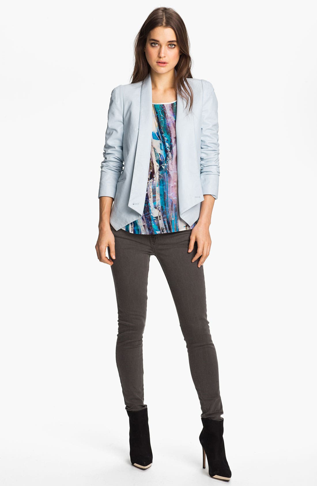 Alternate Image 4  - Rebecca Minkoff 'Leah' Crystal Print Top