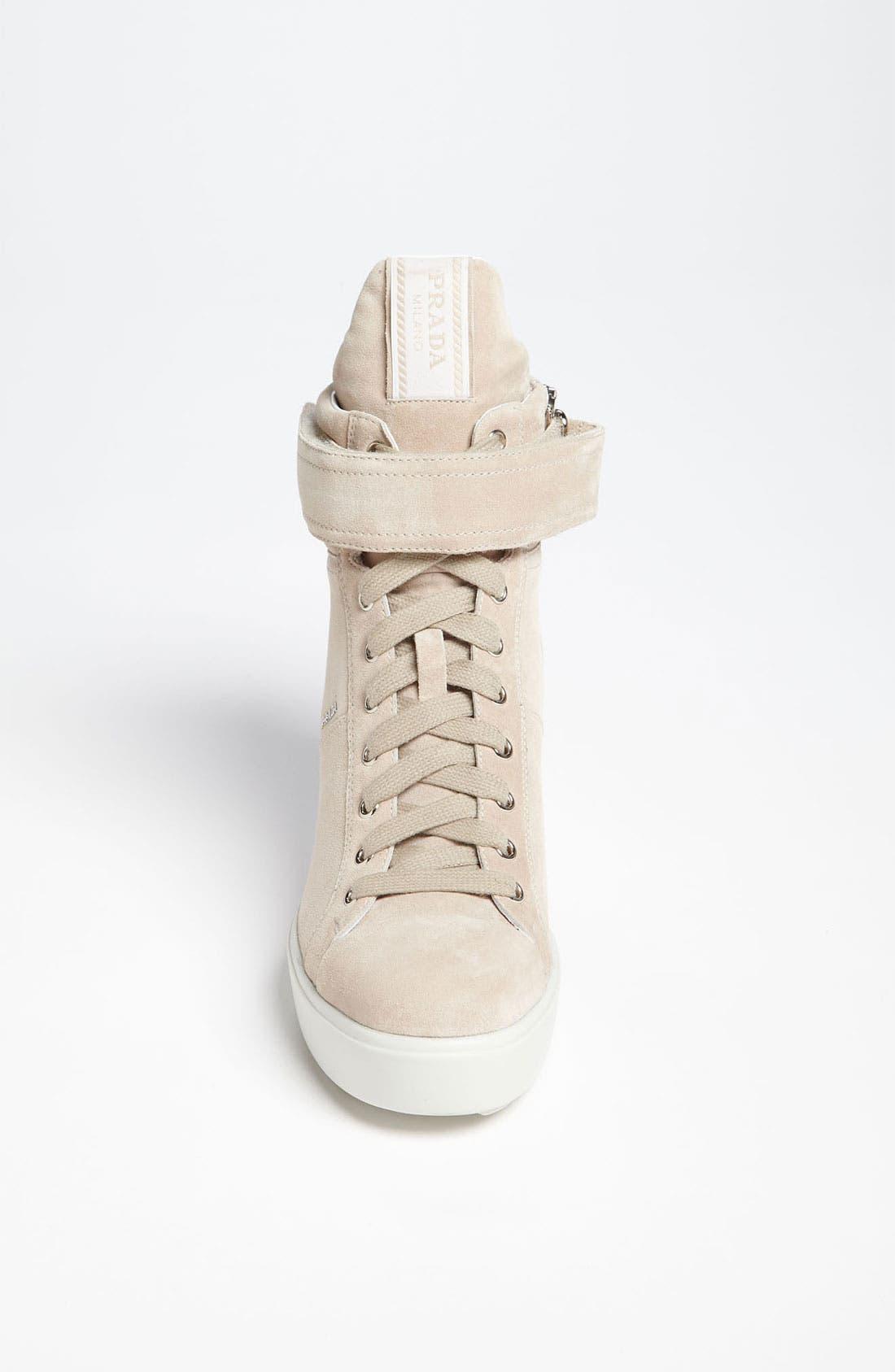Alternate Image 3  - Prada Wedge Sneaker