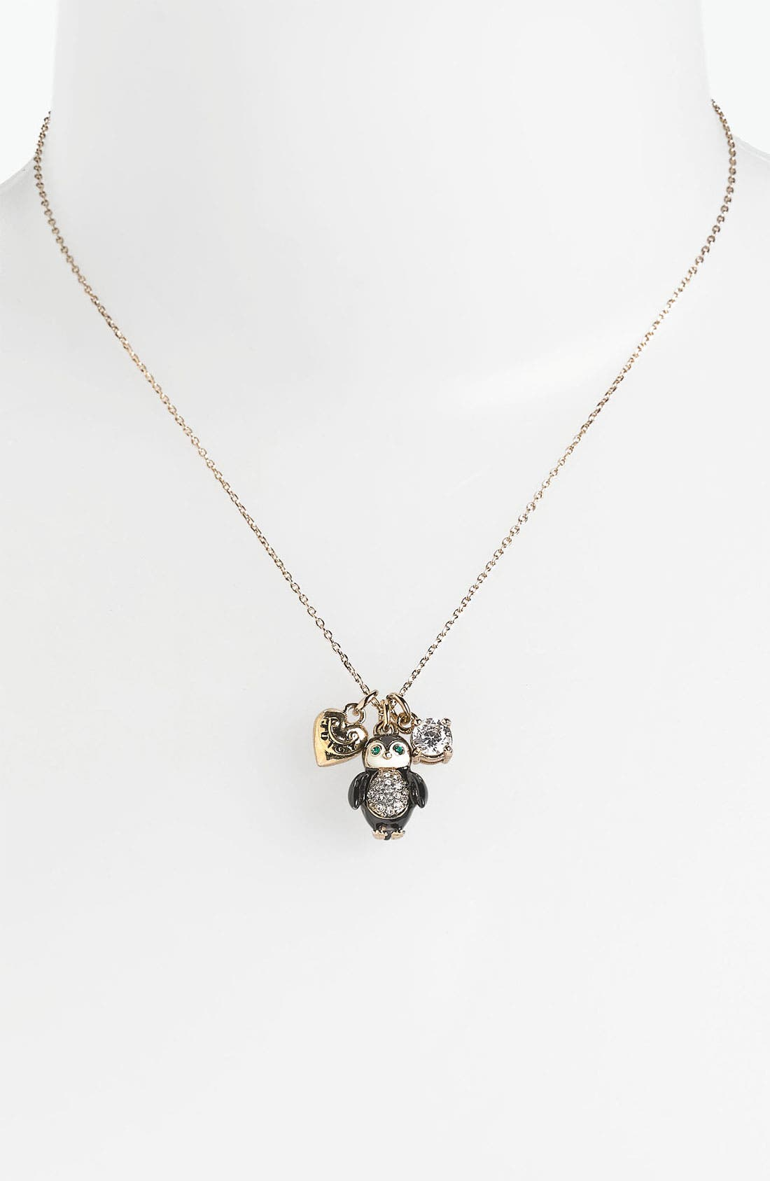 Main Image - Juicy Couture 'Perfectly Gifted' Boxed Pendant Necklace