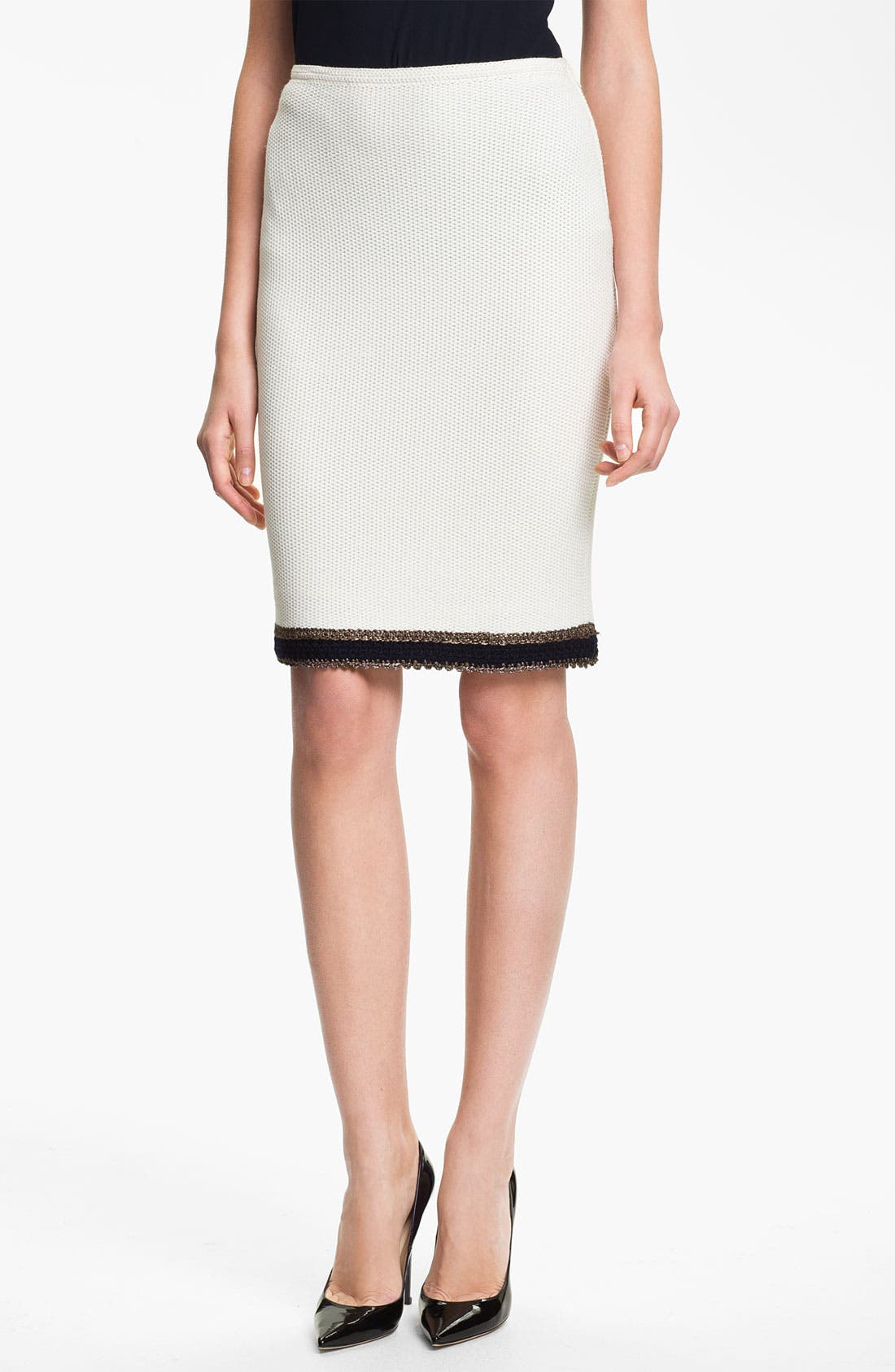 Alternate Image 1 Selected - St. John Collection Tweed Pencil Skirt