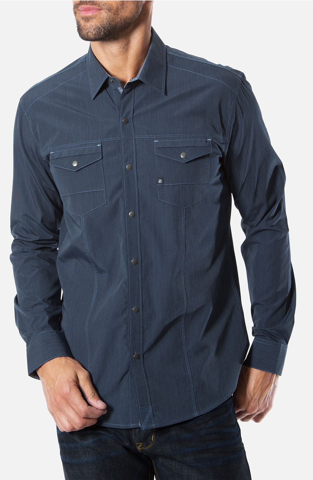 Alternate Image 1 Selected - 7 Diamonds 'Chill Out' Woven Sport Shirt