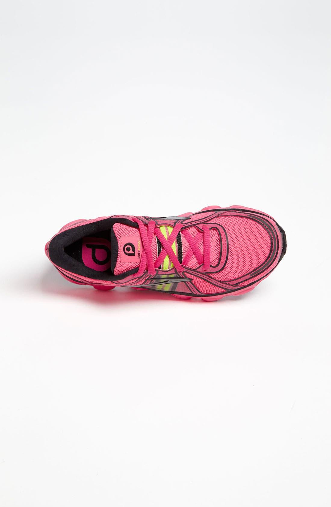 Alternate Image 3  - Brooks 'Pureflow' Athletic Shoe (Toddler, Little Kid & Big Kid)