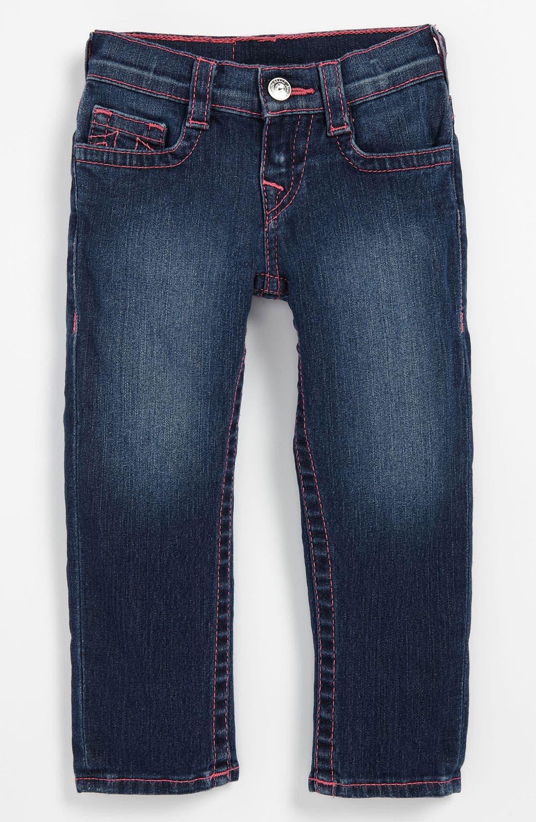 Alternate Image 2  - True Religion Brand Jeans 'Casey' Skinny Leg Jeans (Toddler)