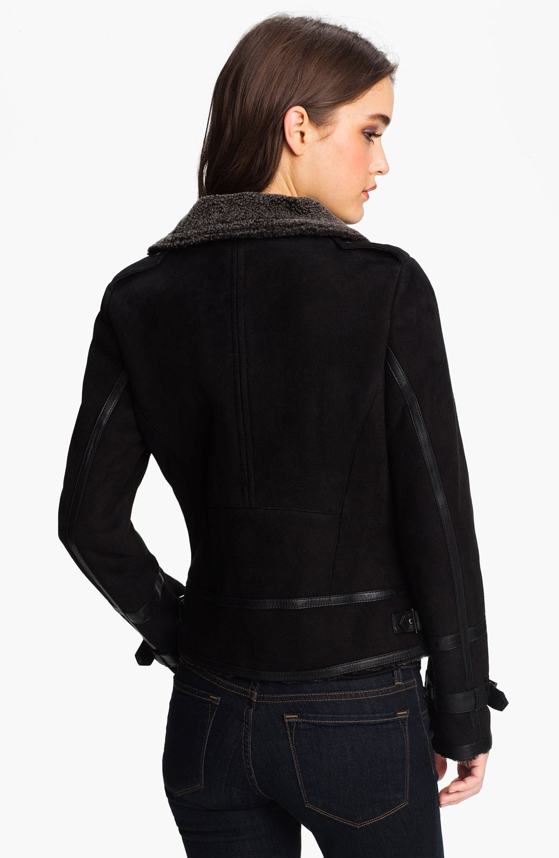 Alternate Image 3  - Cole Haan Genuine Shearling Jacket