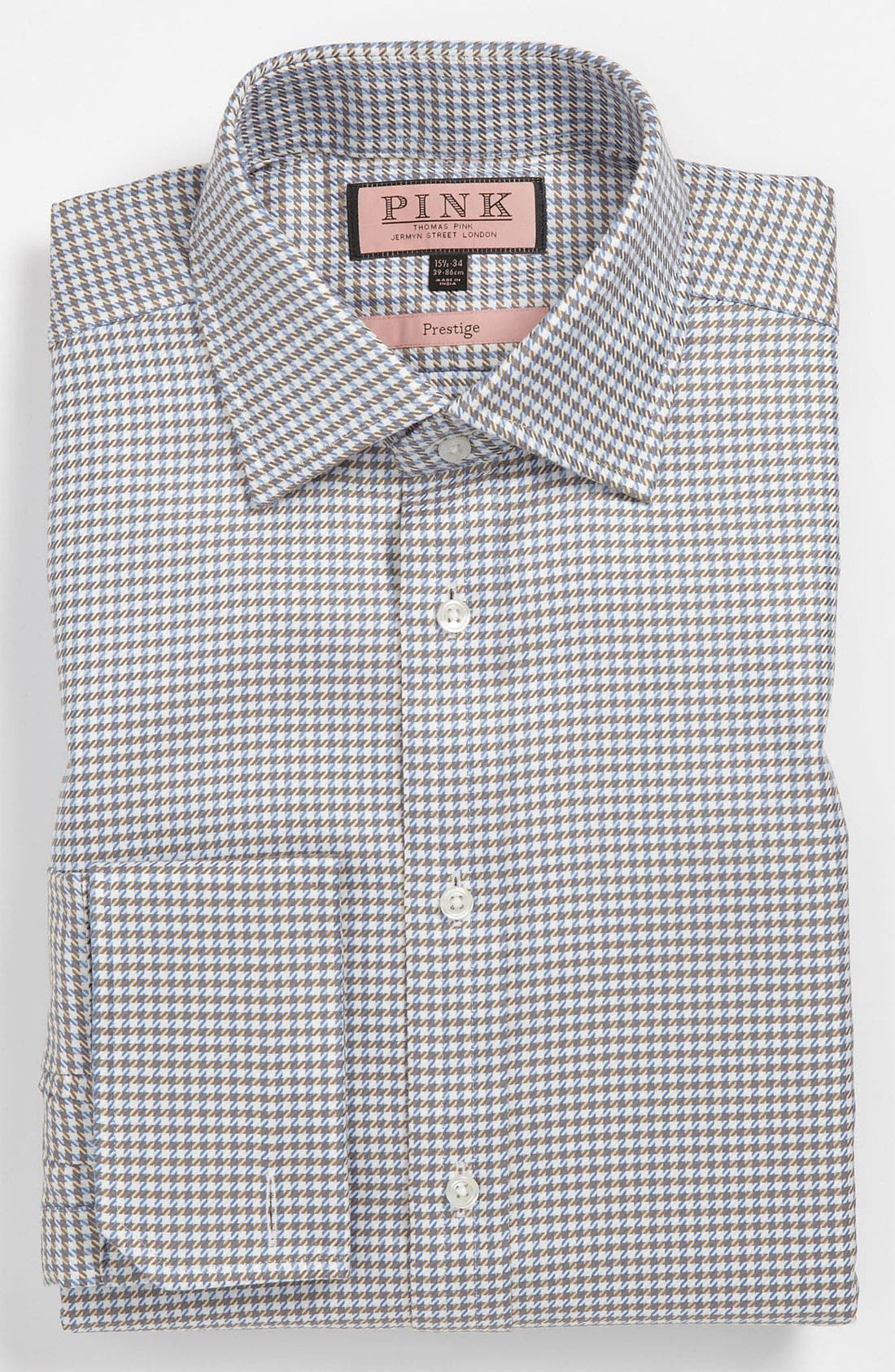 Alternate Image 1 Selected - Thomas Pink Classic Fit Prestige Dress Shirt