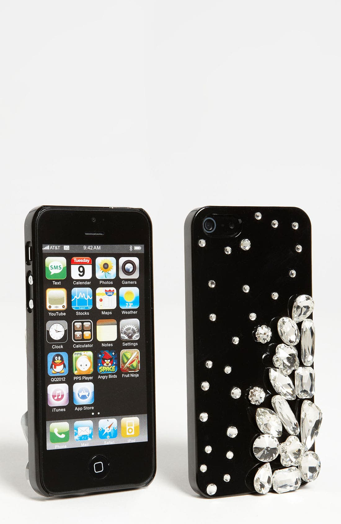 Main Image - Natasha Couture 'Exploding Crystals' iPhone 5 Case