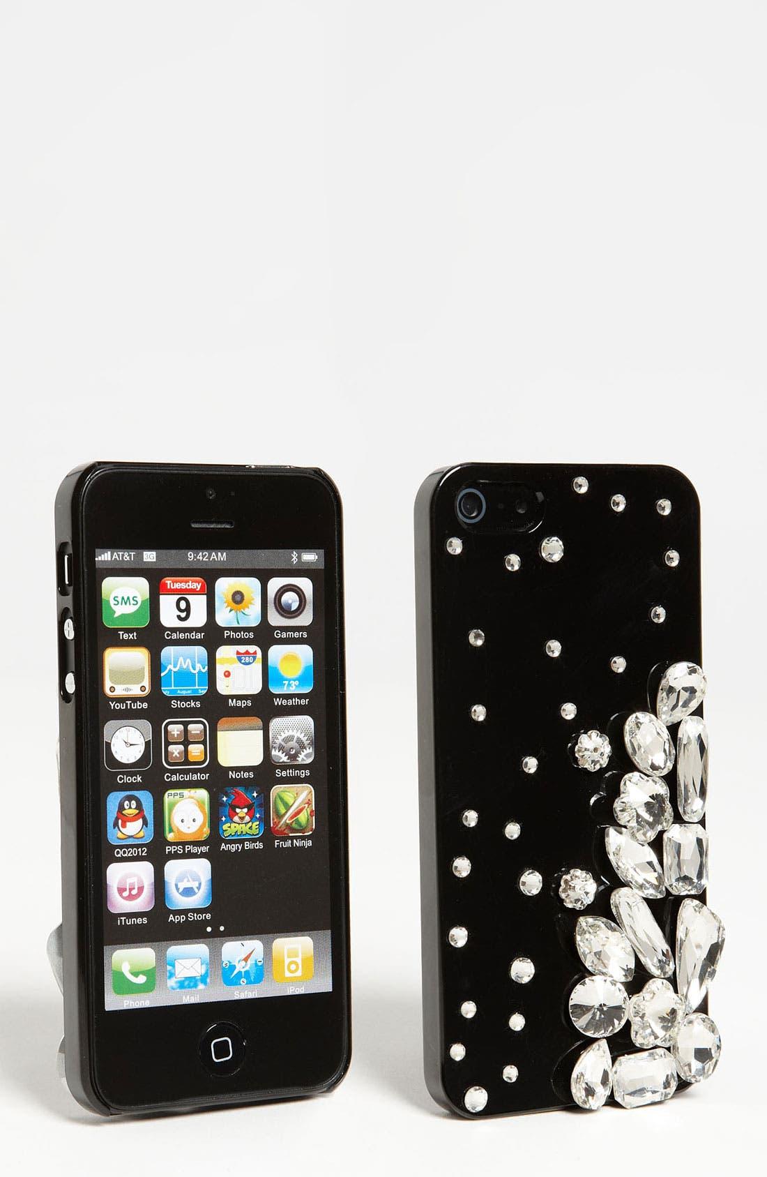 Main Image - Natasha Couture 'Exploding Crystals' iPhone 5 Case