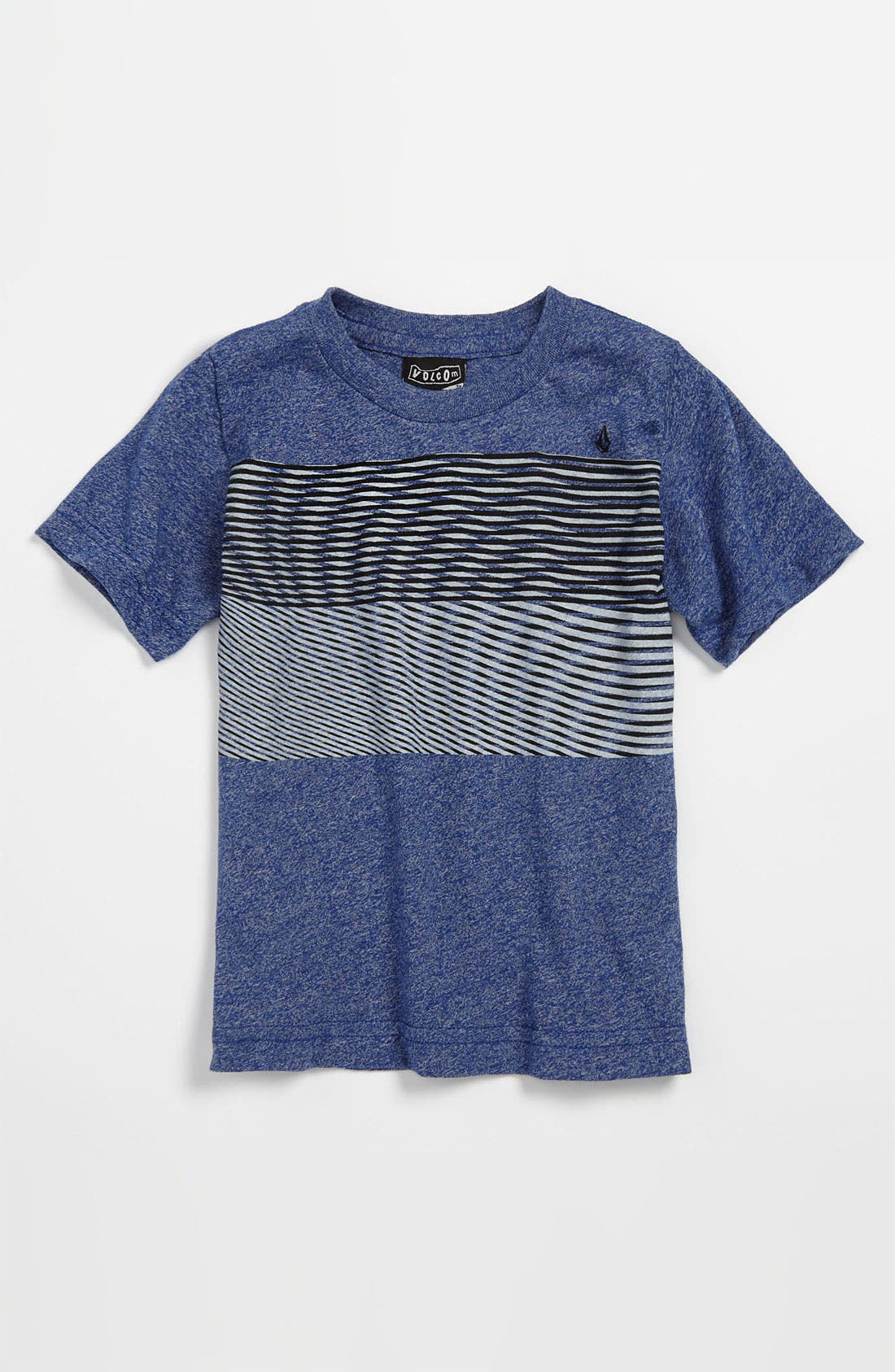 Alternate Image 1 Selected - Volcom 'Nue Volca' Stripe T-Shirt (Toddler)