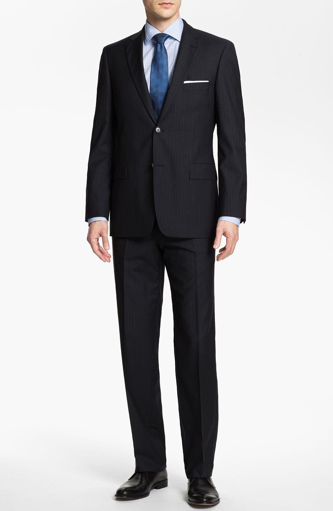 Alternate Image 2  - BOSS Black 'Pasini/Movie' Stripe Suit