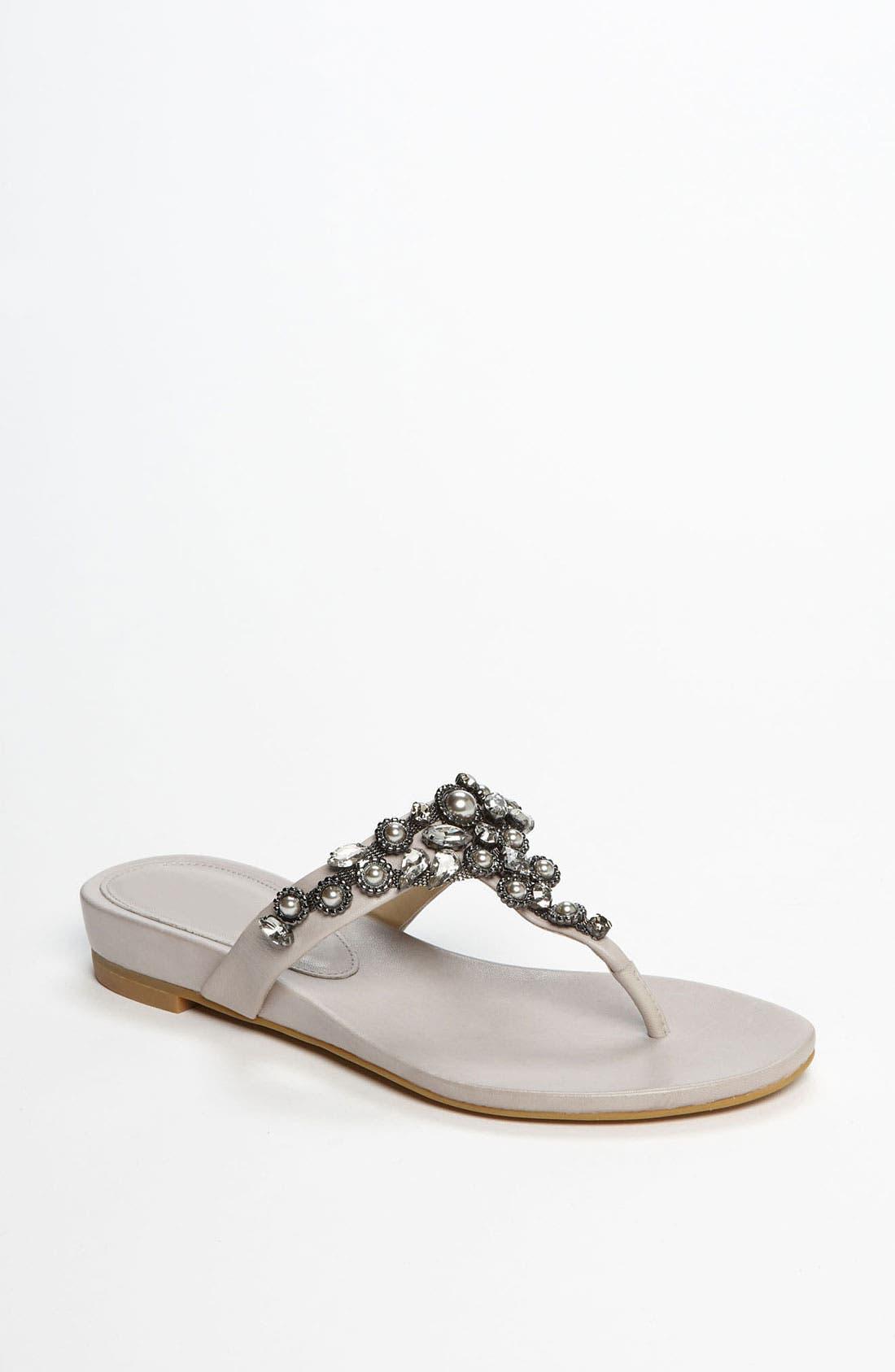 Alternate Image 1 Selected - Vera Wang Footwear 'Benji' Sandal