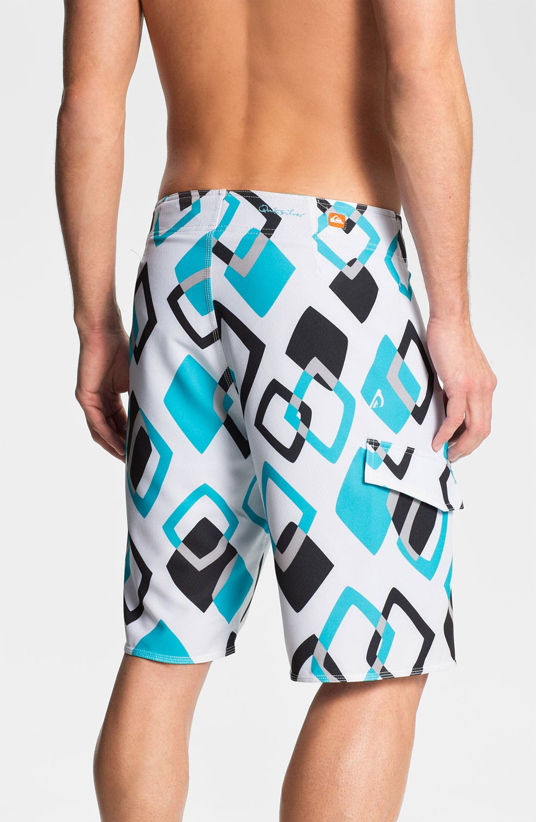 Alternate Image 2  - Quiksilver Waterman 'Kaleidoscope' Board Shorts