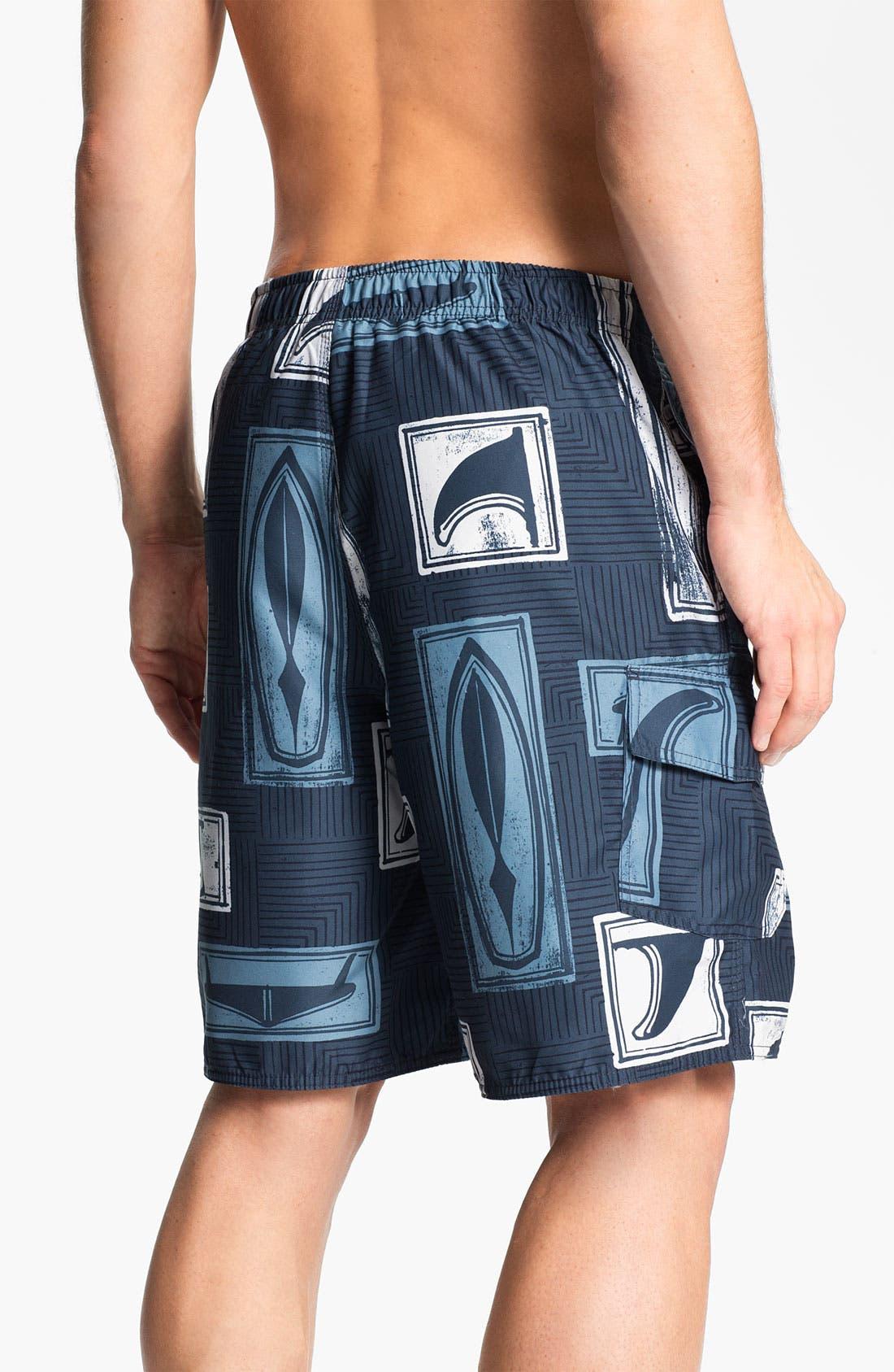 Alternate Image 2  - Quiksilver 'Boardroom' Hybrid Swim Shorts