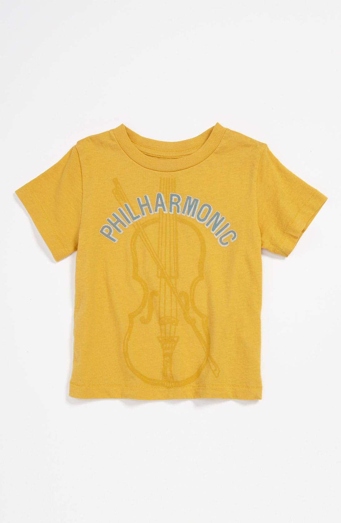 'Philharmonic' T-Shirt,                             Main thumbnail 1, color,                             Gold