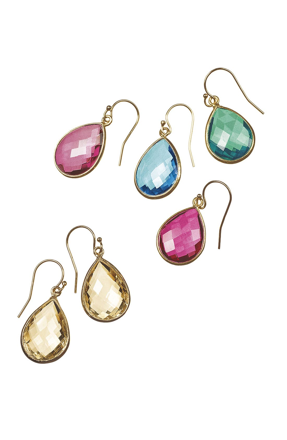 Alternate Image 2  - NuNu Designs 'Candy' Teardrop Earrings