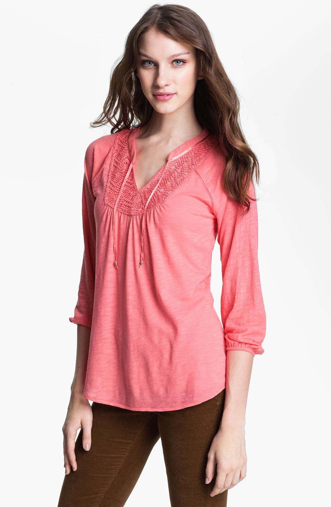 Alternate Image 1 Selected - Lucky Brand 'Camille' Top