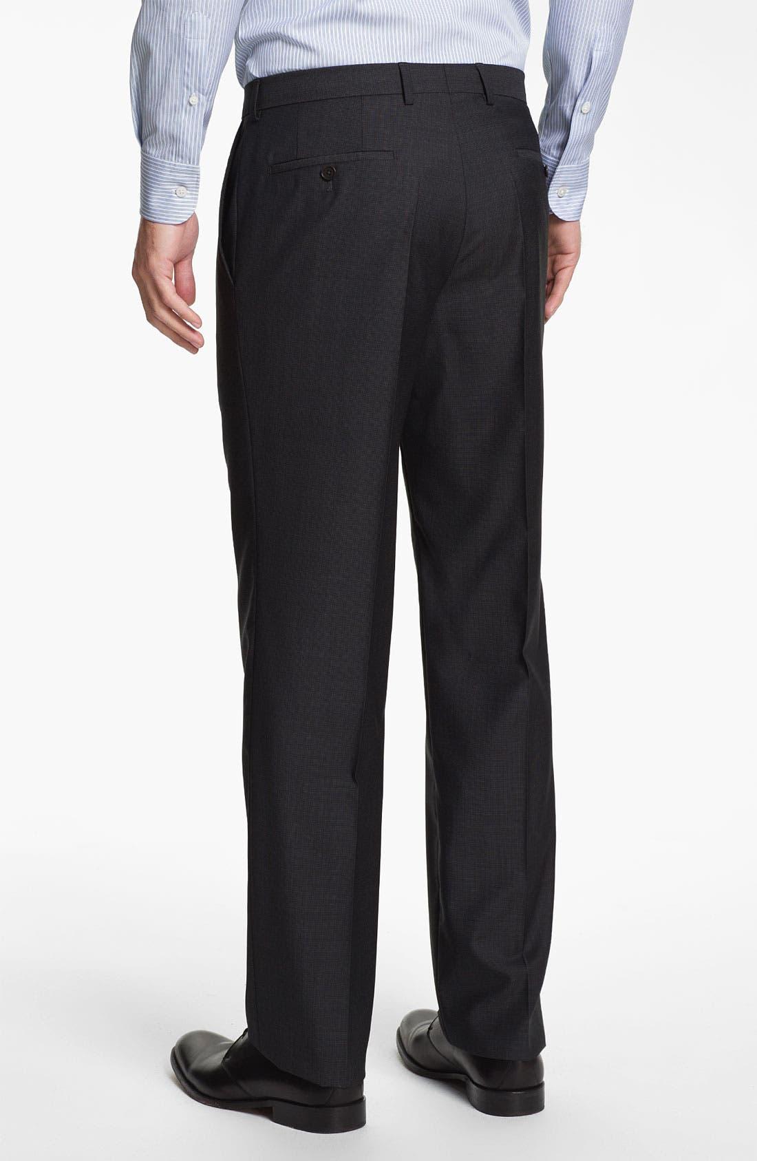 Alternate Image 5  - BOSS Black 'Edison/Power' Wool Suit
