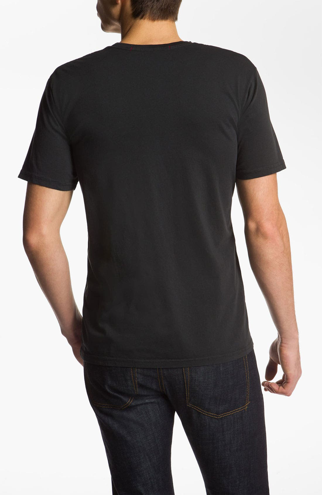 Alternate Image 2  - Iron & Resin 'Freedom Flag' Screenprint T-Shirt