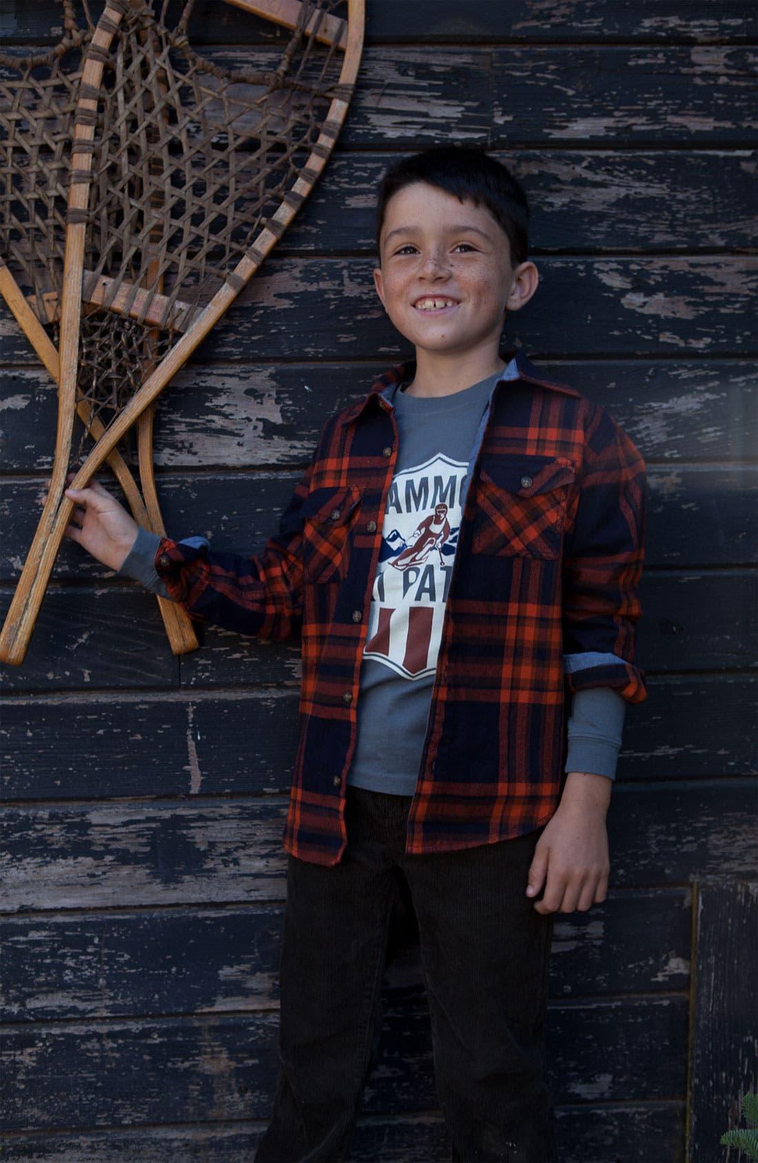 Alternate Image 2  - Peek 'Mammoth Ski Patrol' T-Shirt (Toddler, Little Boys & Big Boys)