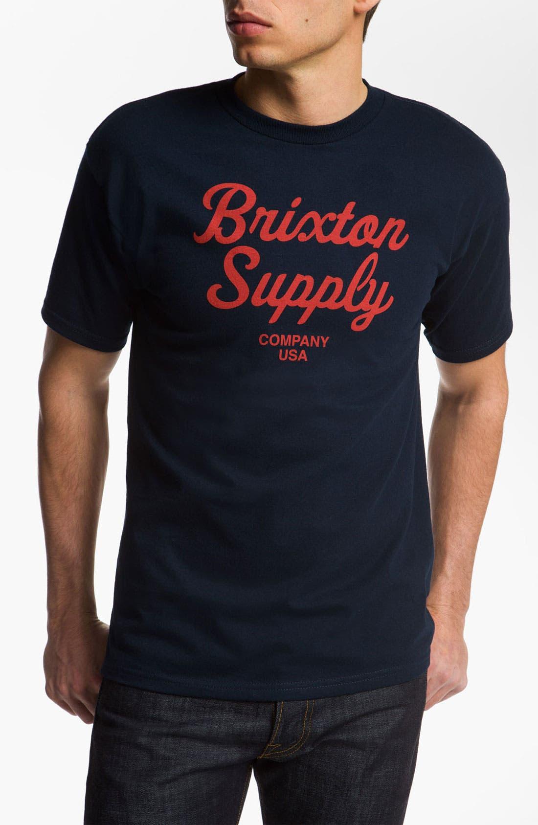Alternate Image 1 Selected - Brixton 'Jackson' T-Shirt