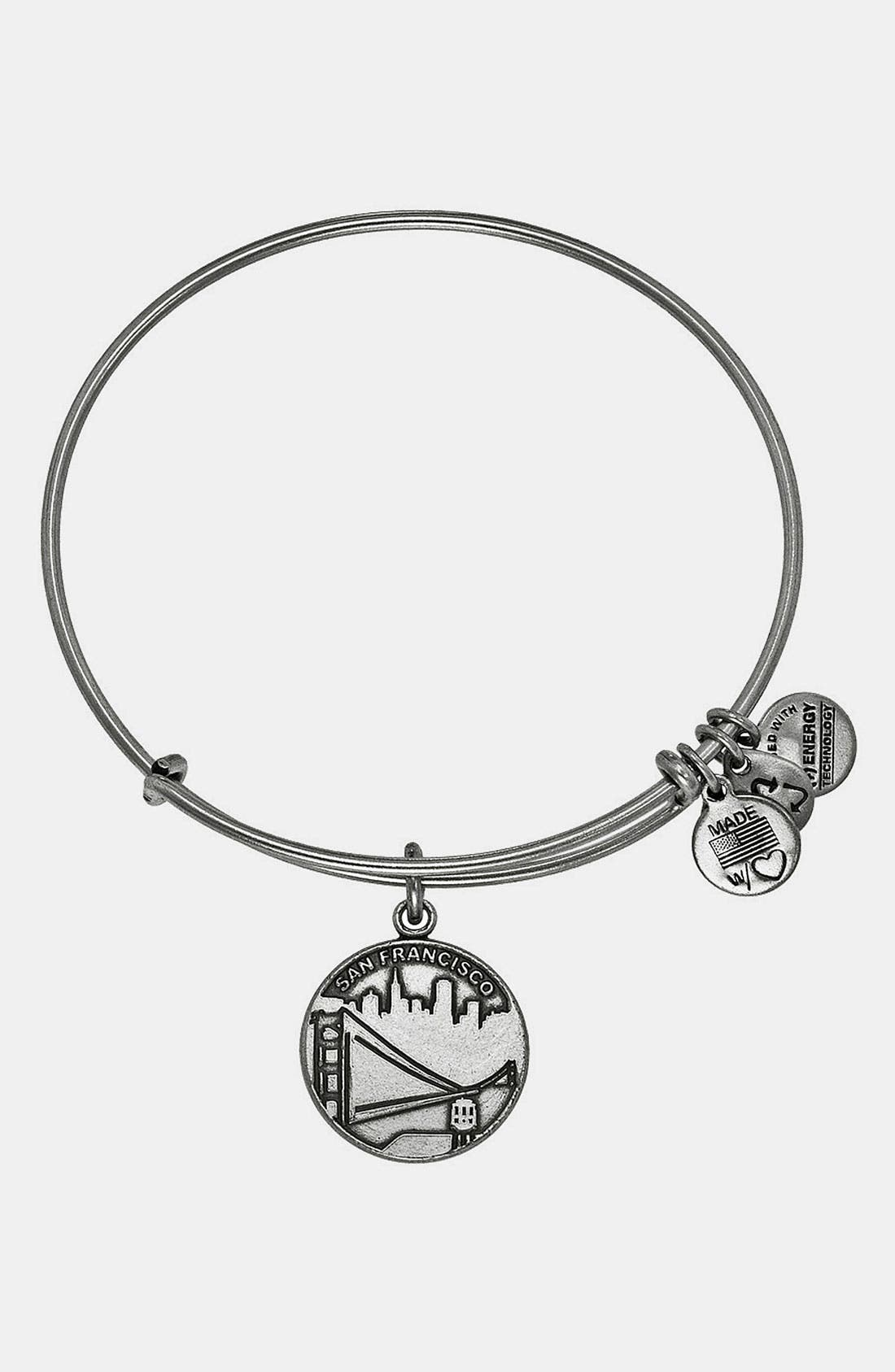 Alternate Image 1 Selected - Alex and Ani 'San Francisco' Expandable Wire Bangle