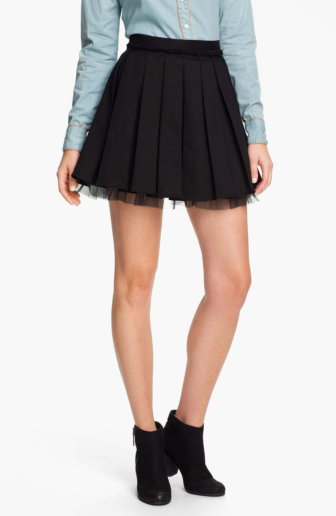 Main Image - Collective Concepts 'Rah Rah' Skirt