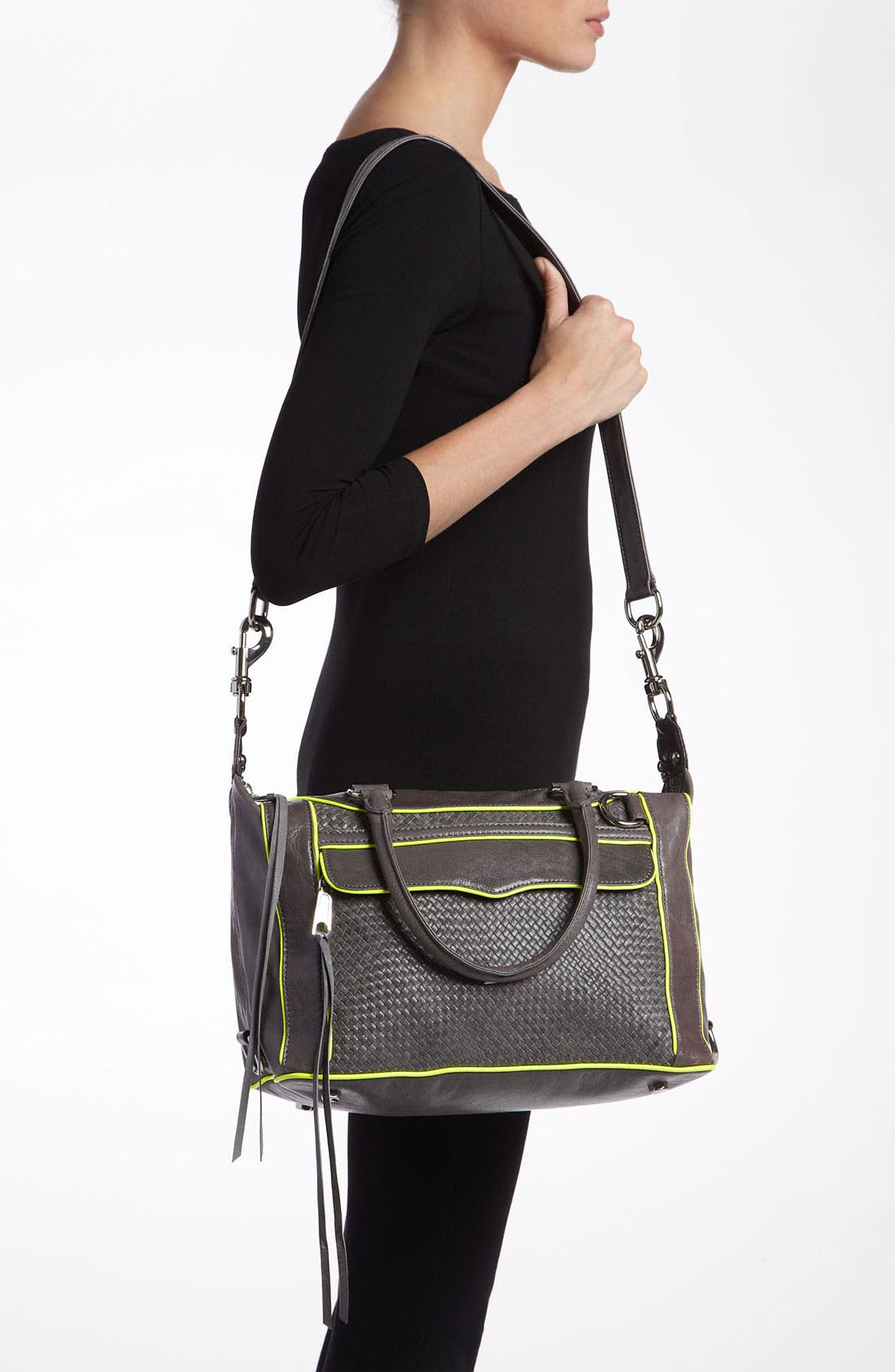 Alternate Image 2  - Rebecca Minkoff 'Mini MAB' Leather Satchel