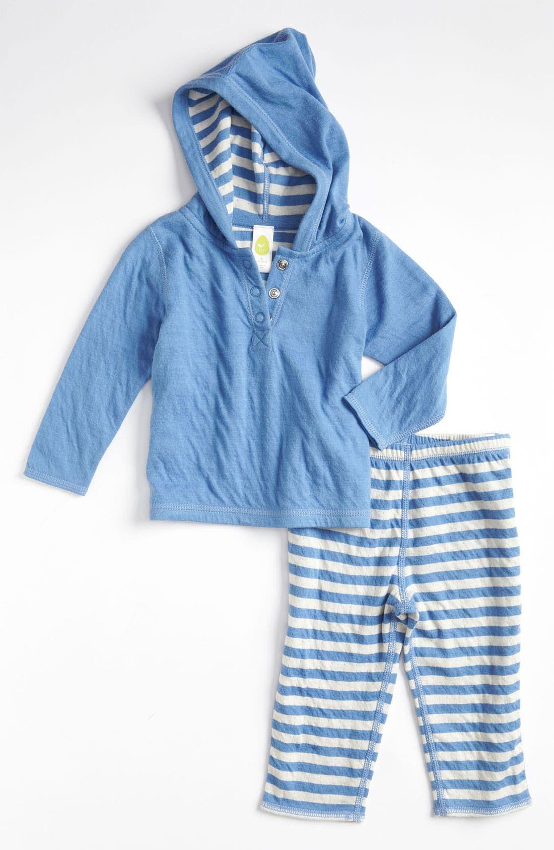 Alternate Image 1 Selected - Stem Baby Hoodie & Pants (Infant)