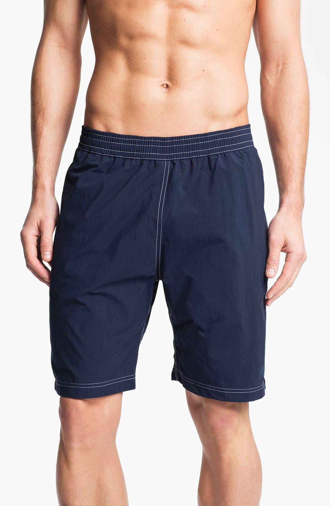Alternate Image 1 Selected - Maker & Company 'Pukka' Swim Shorts (Online Only)
