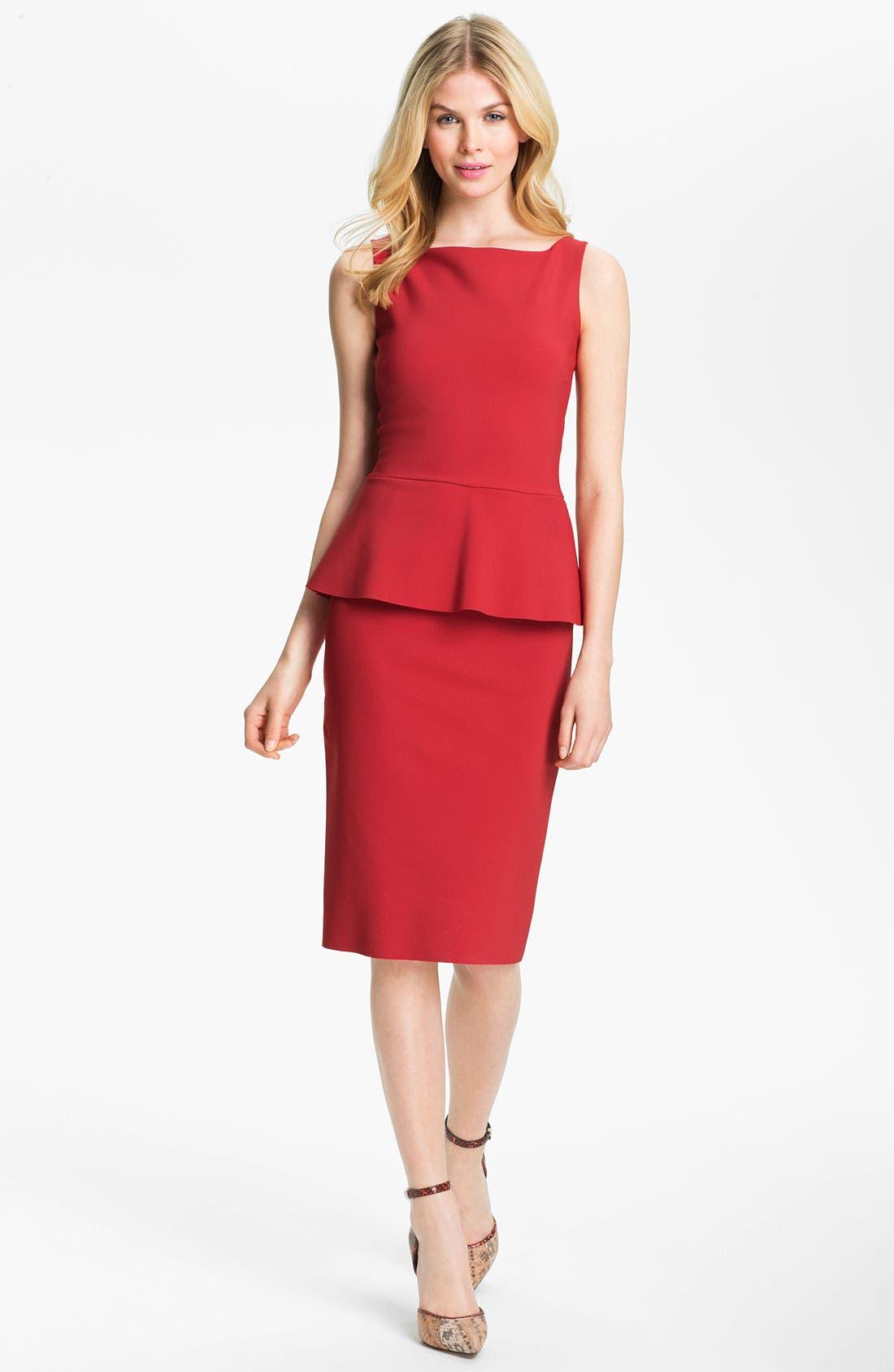 Main Image - La Petite Robe by Chiara Boni Sleeveless Peplum Sheath Dress