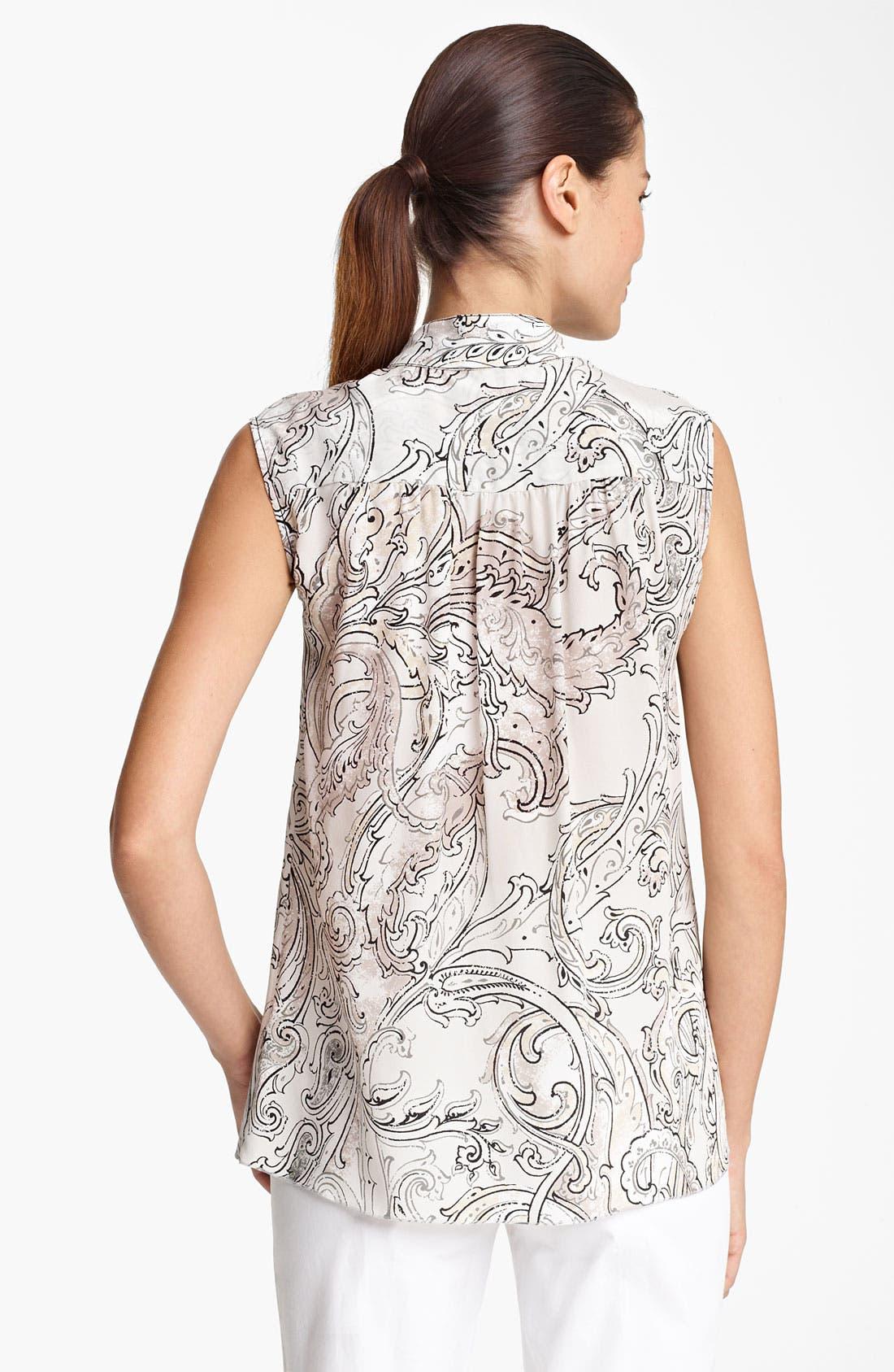 Alternate Image 2  - Piazza Sempione Print Silk Blouse