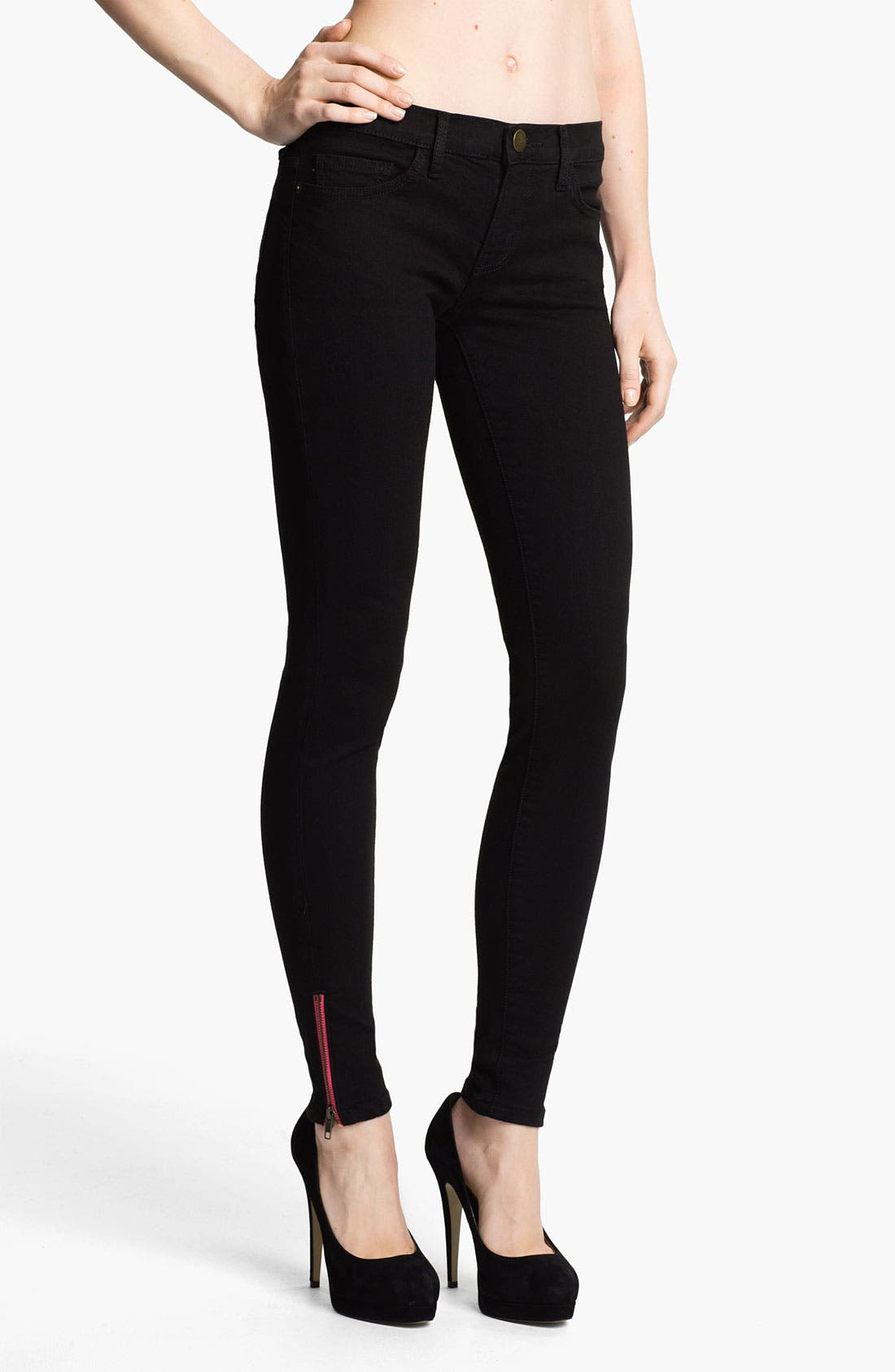 Alternate Image 1 Selected - Current/Elliott Skinny Stretch Ankle Jeans