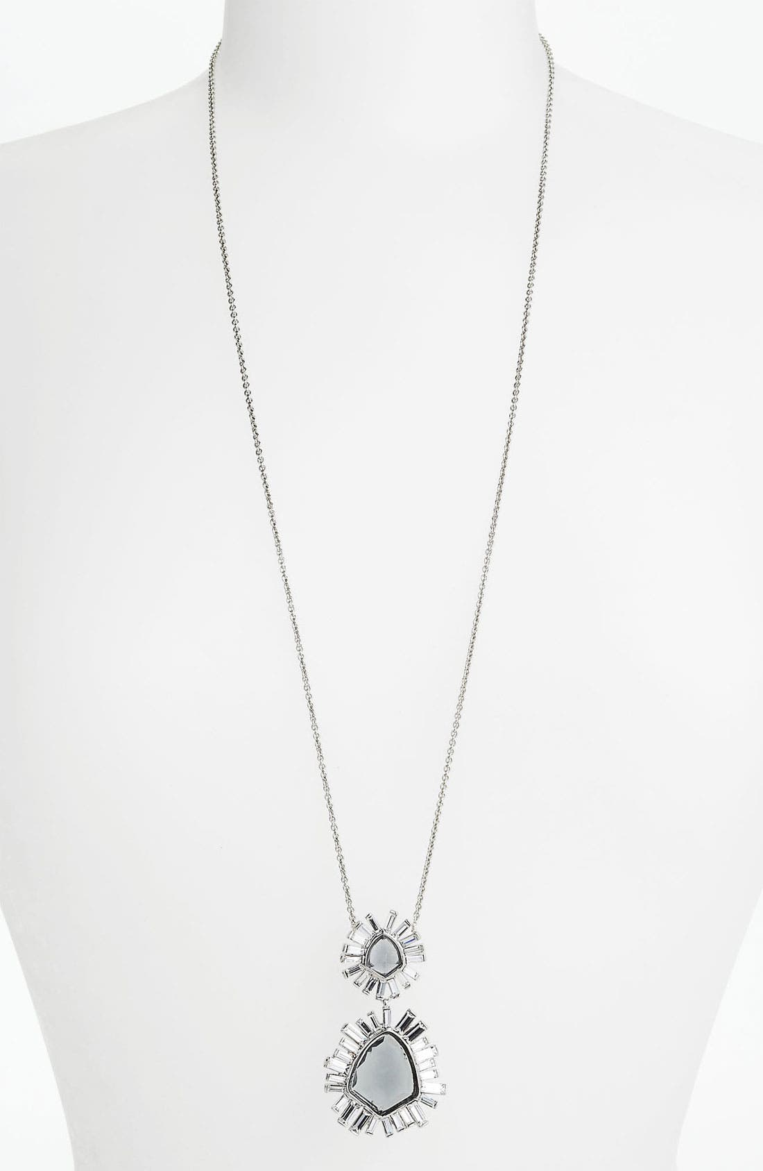 Alternate Image 1 Selected - Alexis Bittar 'Miss Havisham - Bel Air' Long Starburst Pendant Necklace