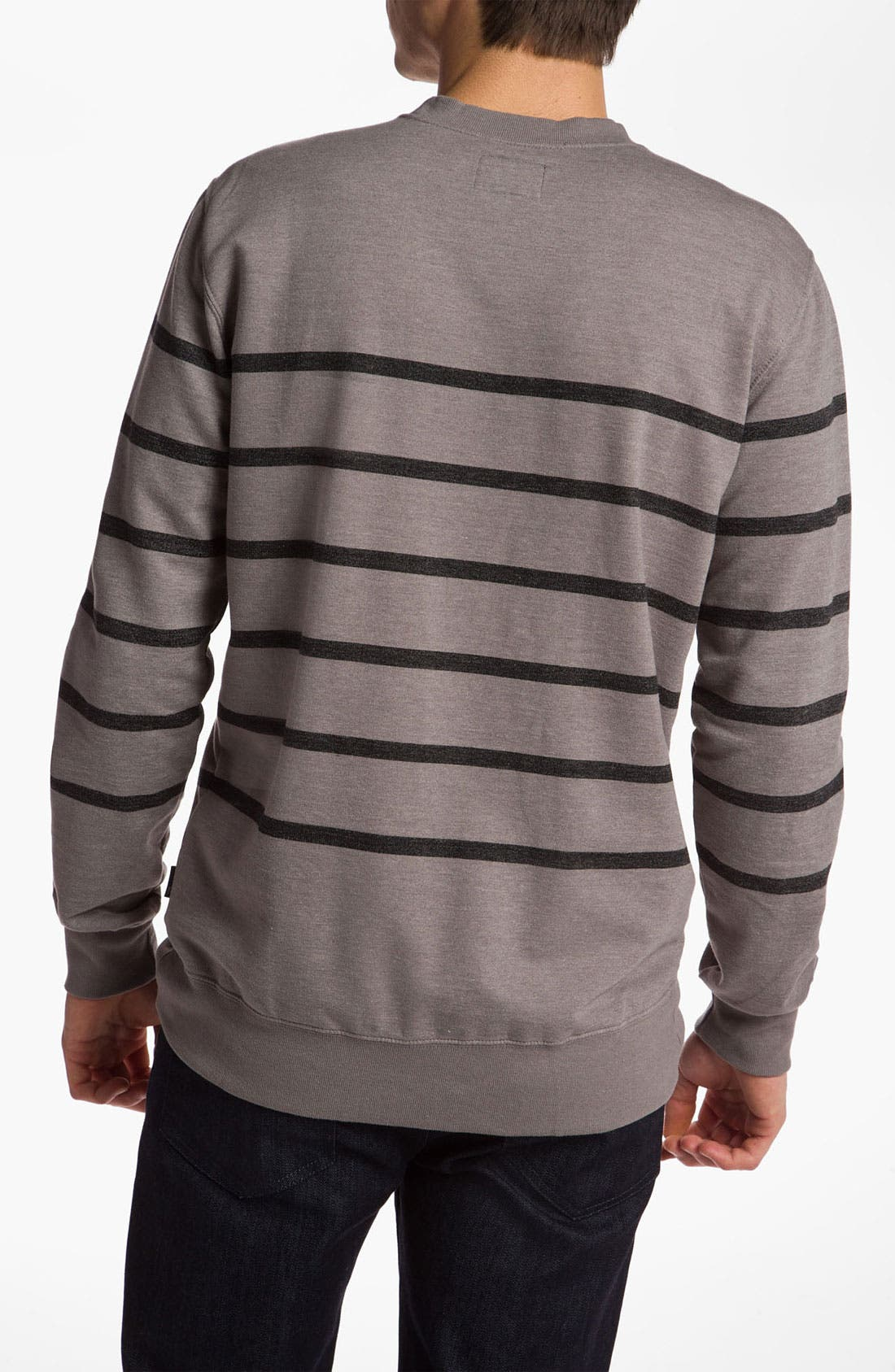 Alternate Image 2  - Quiksilver 'Malone' Crewneck Sweatshirt
