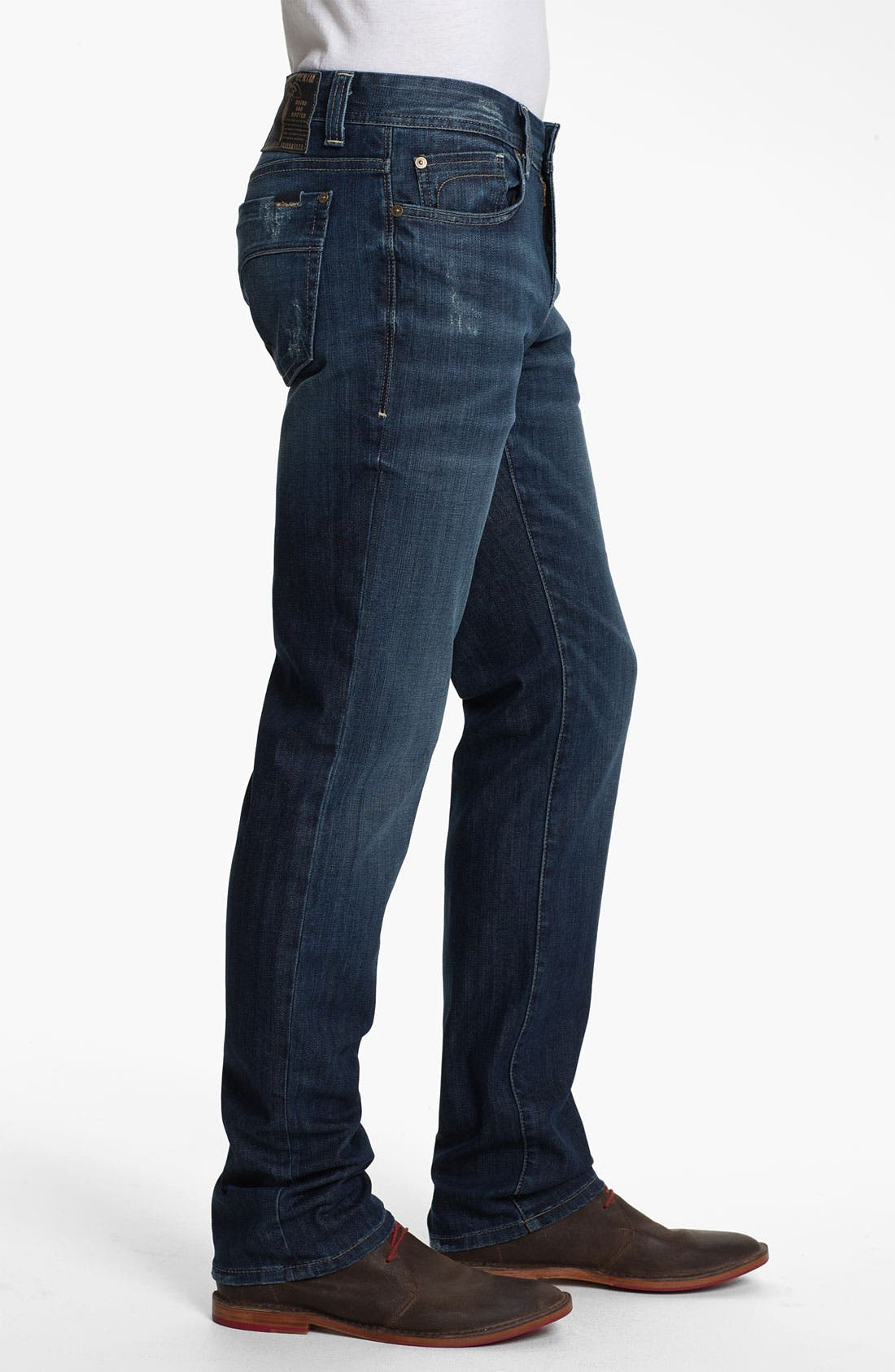 Alternate Image 3  - Fidelity Denim 'Slim Jim' Slim Straight Leg Jeans (Exile Vintage)