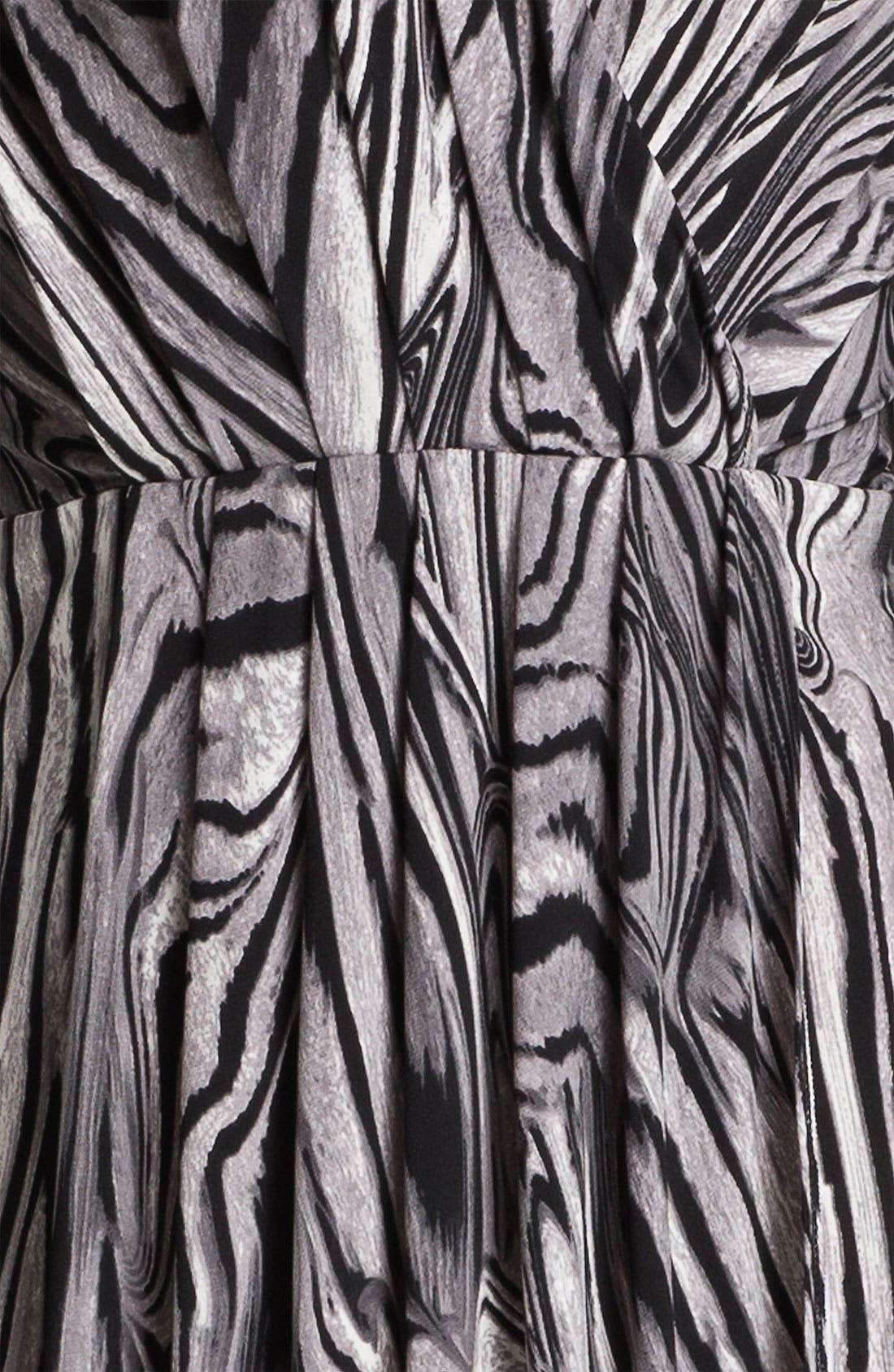 Alternate Image 3  - Karen Kane Pleated Faux Wrap Dress