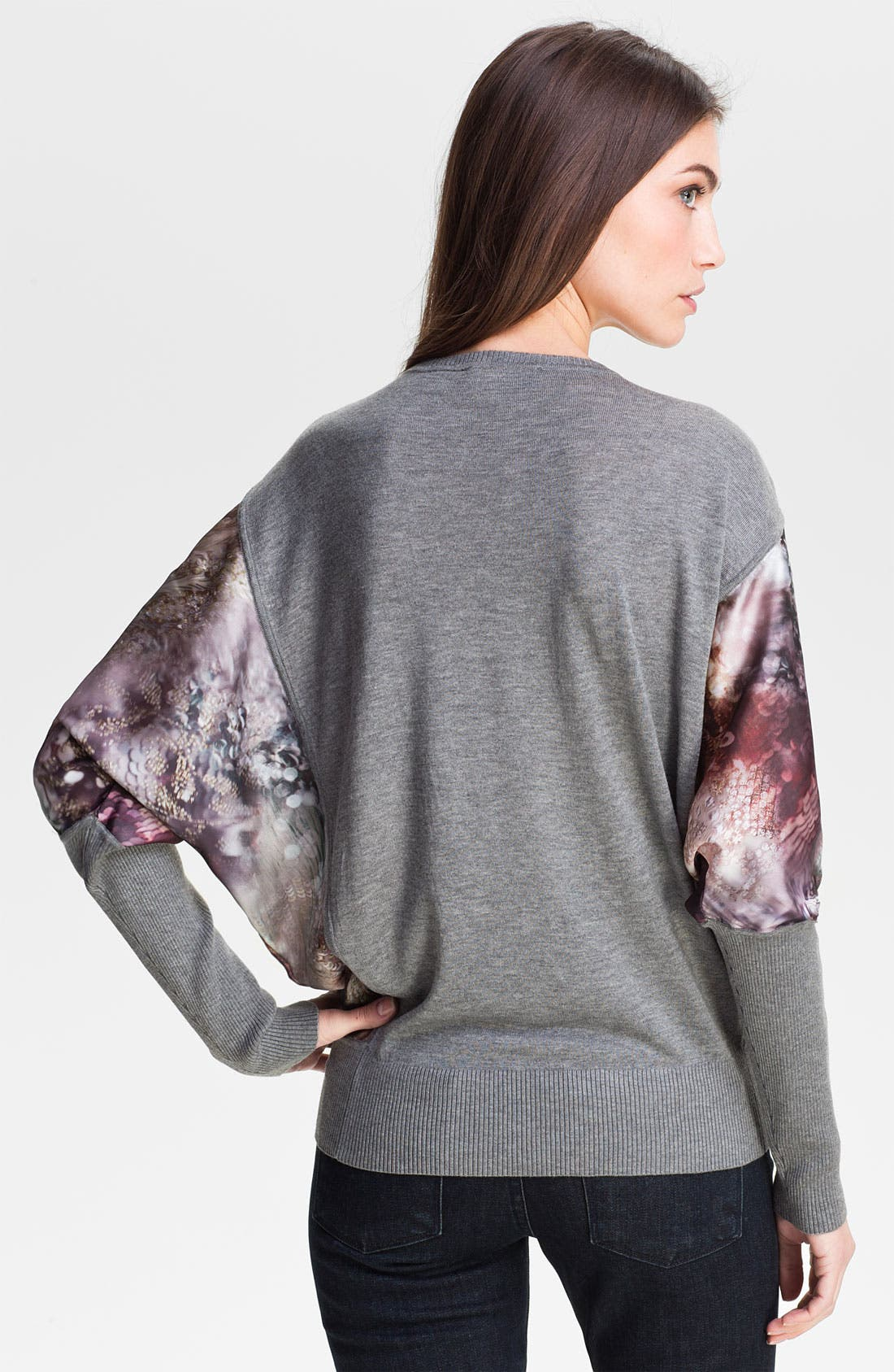 Alternate Image 2  - Ted Baker London Mixed Media Sweater