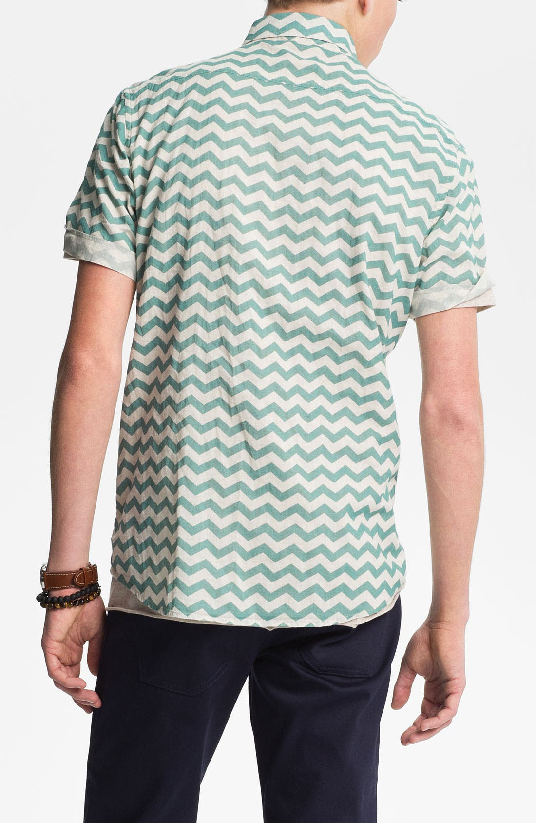 Alternate Image 2  - Zanerobe 'Bay' Woven Shirt
